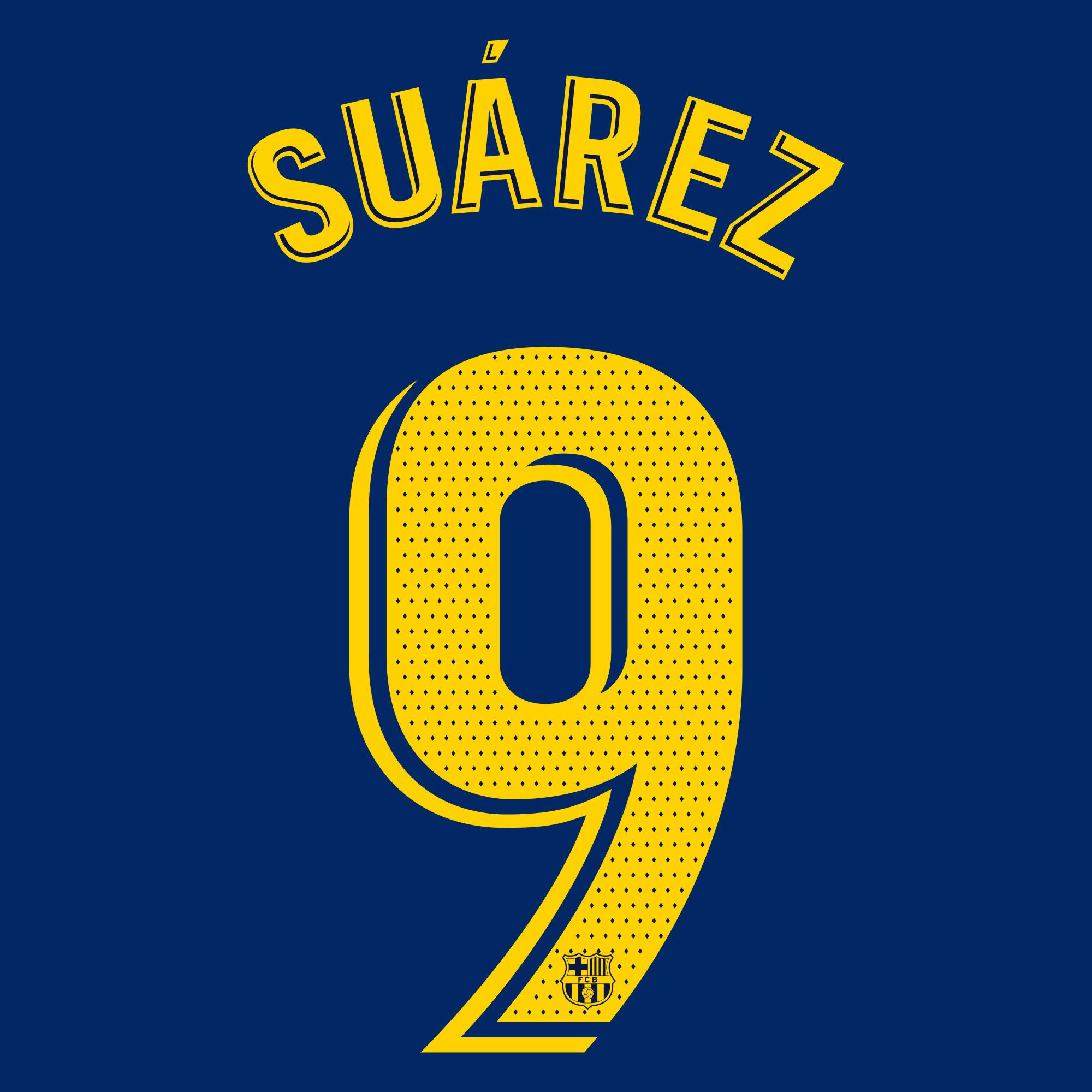 Suarez 9 (Officiële Bedrukking)