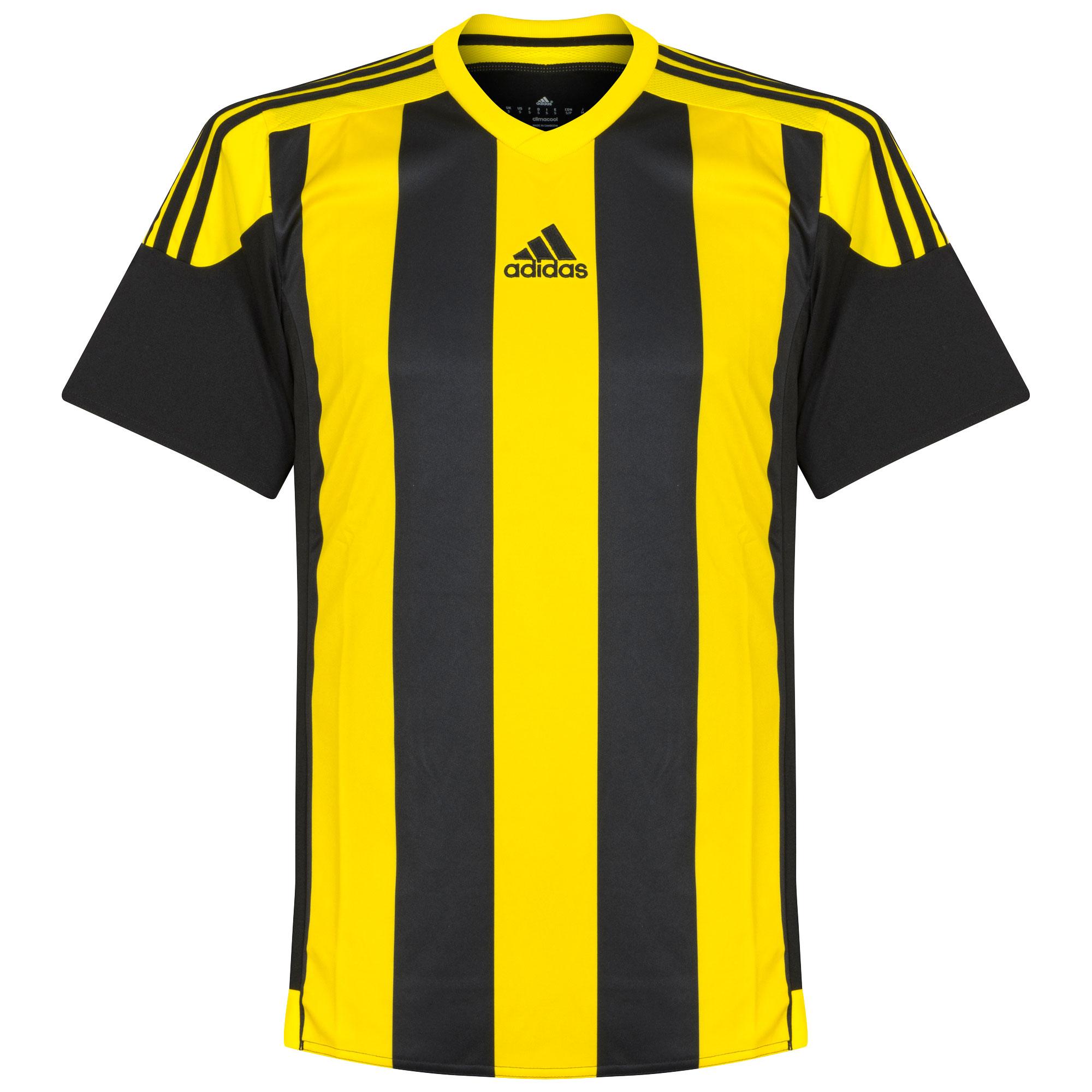 Adidas Striped 15 Teamwear Shirt Zwart-Geel