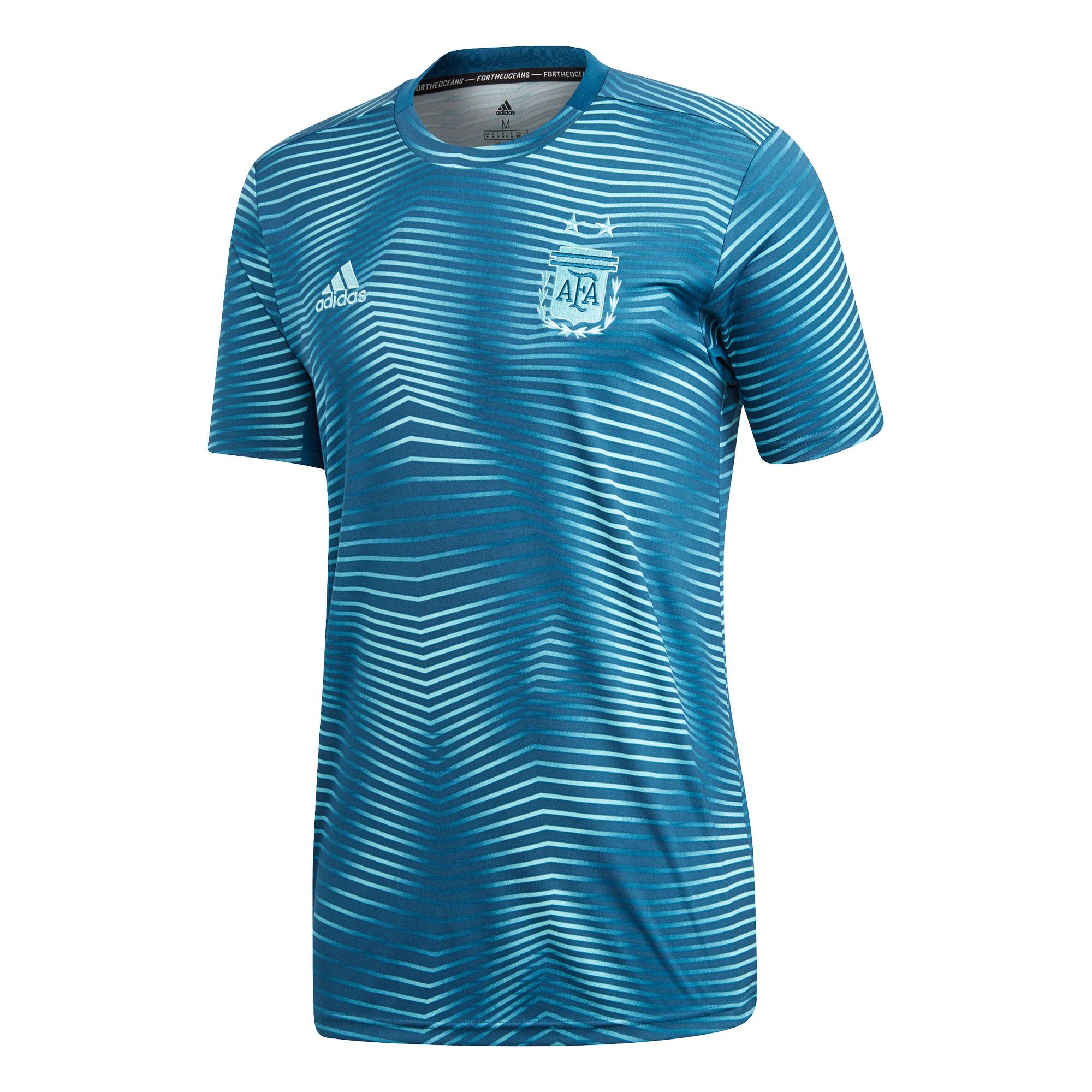 Argentina Home Pre-Match Shirt - Blue 2019 2020