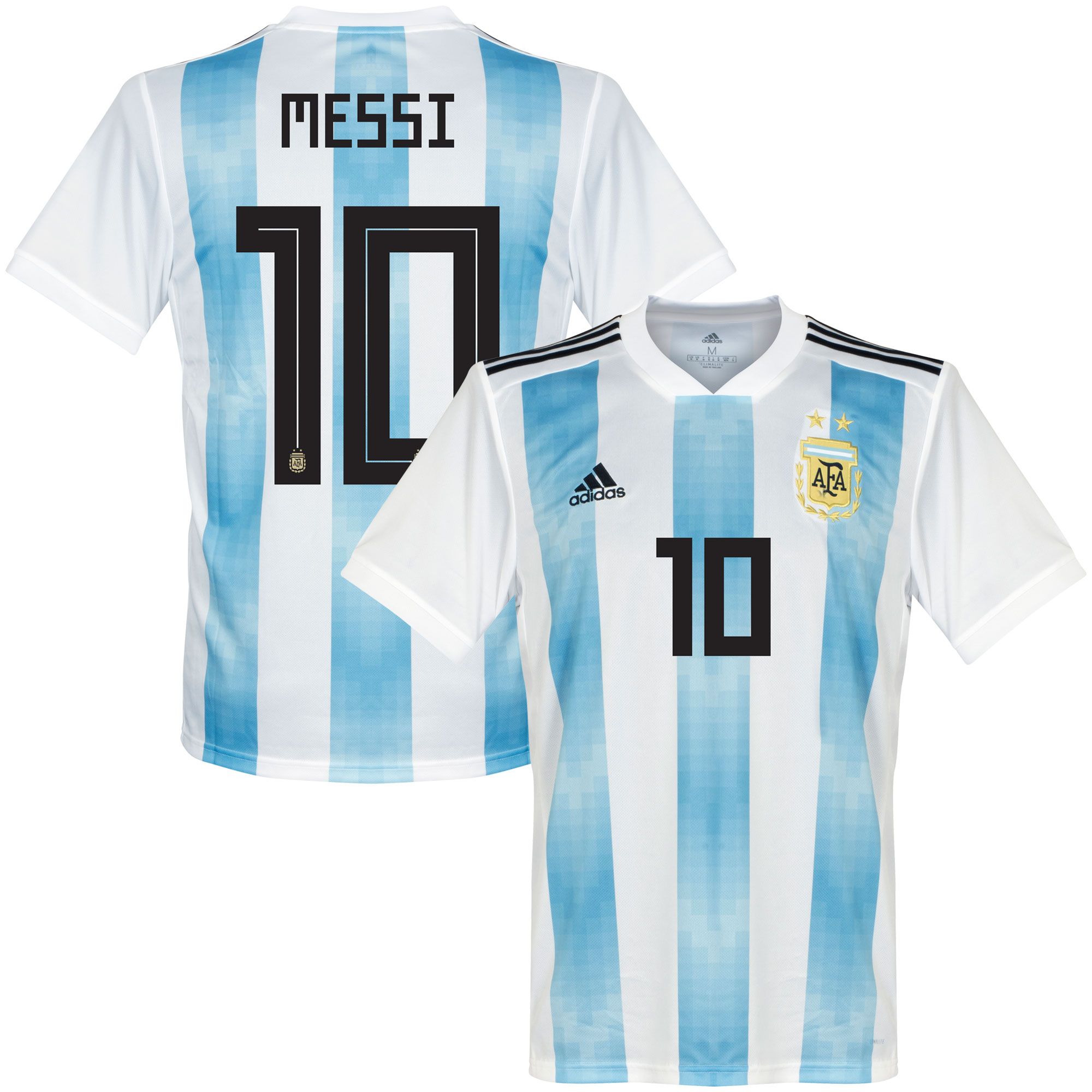 Argentina Home Messi Jersey 2018 / 2019 (Official Printing) - 54