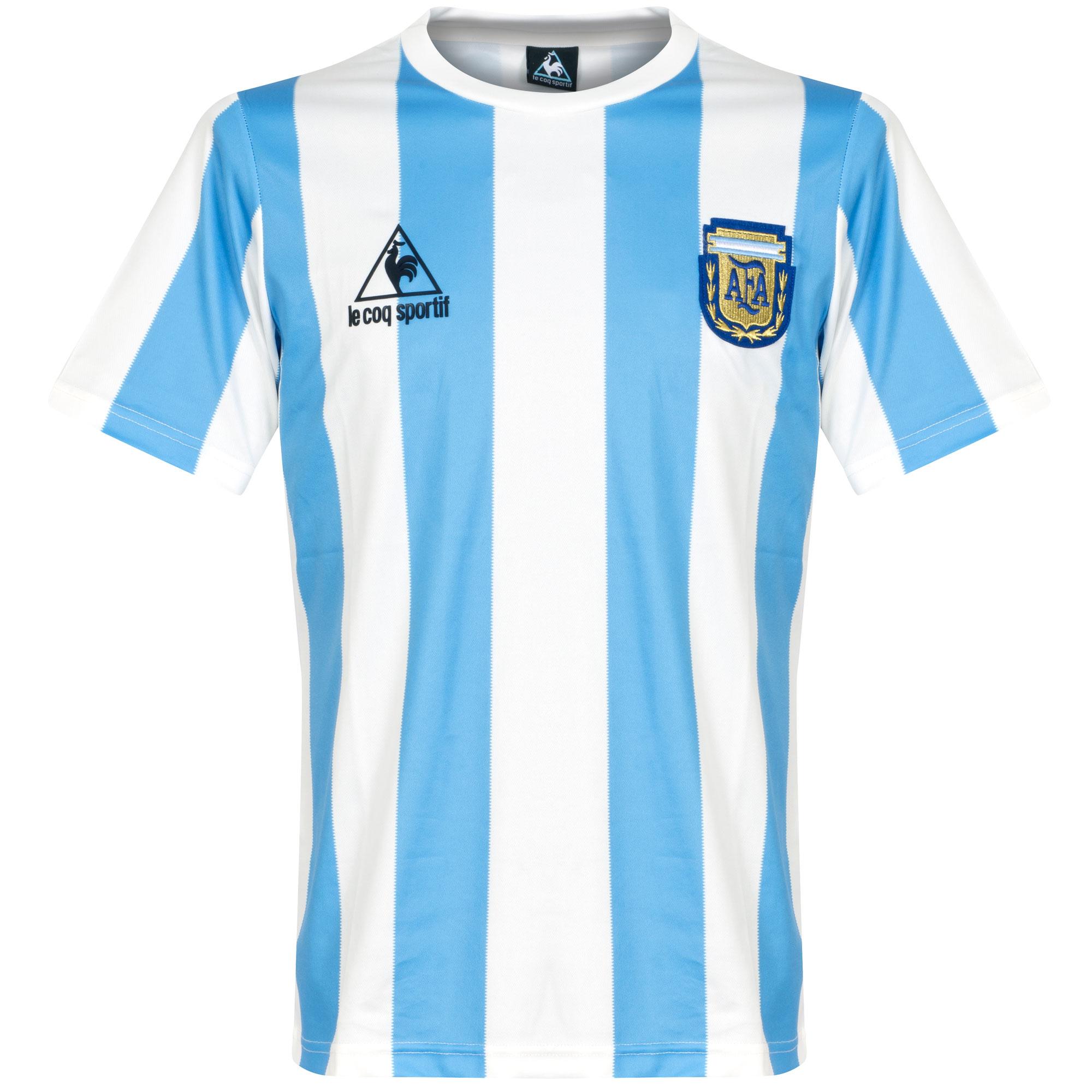 80feb4b6f70 Retro Argentina Football Shirts