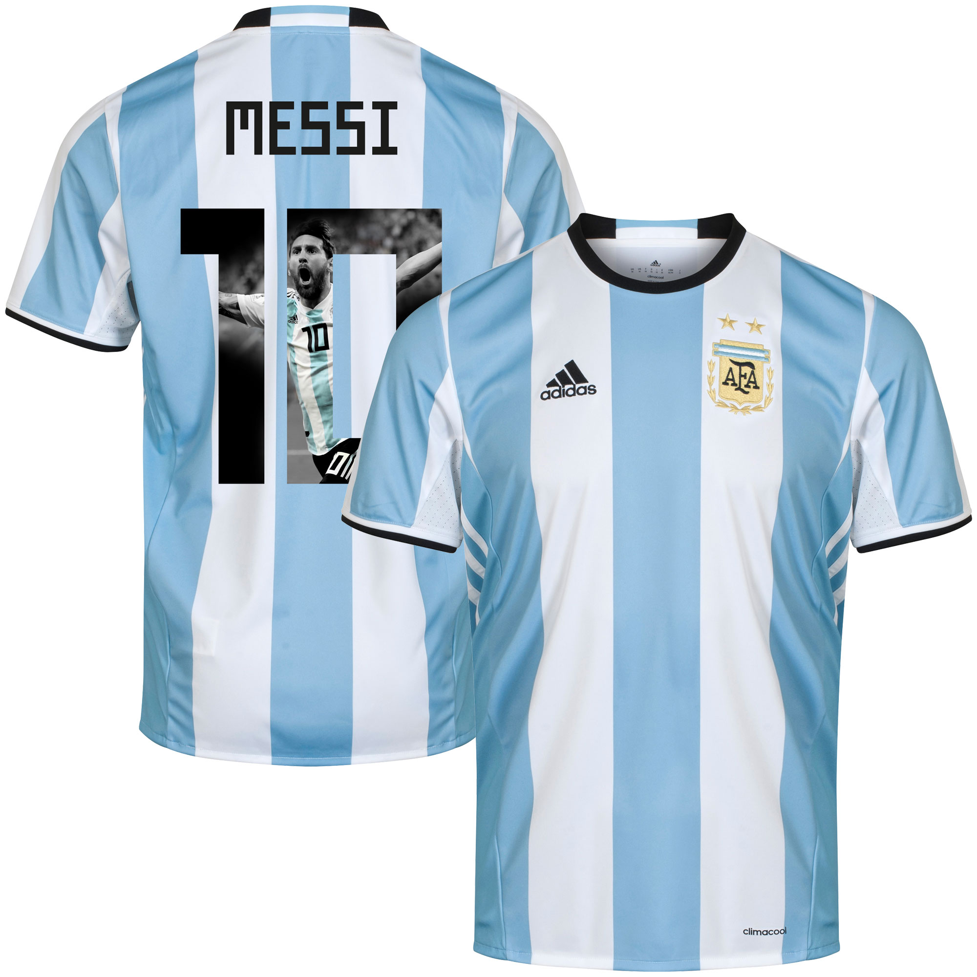 Argentina Home Messi 10 Shirt 2016 2017 (Gallery Style) - 50