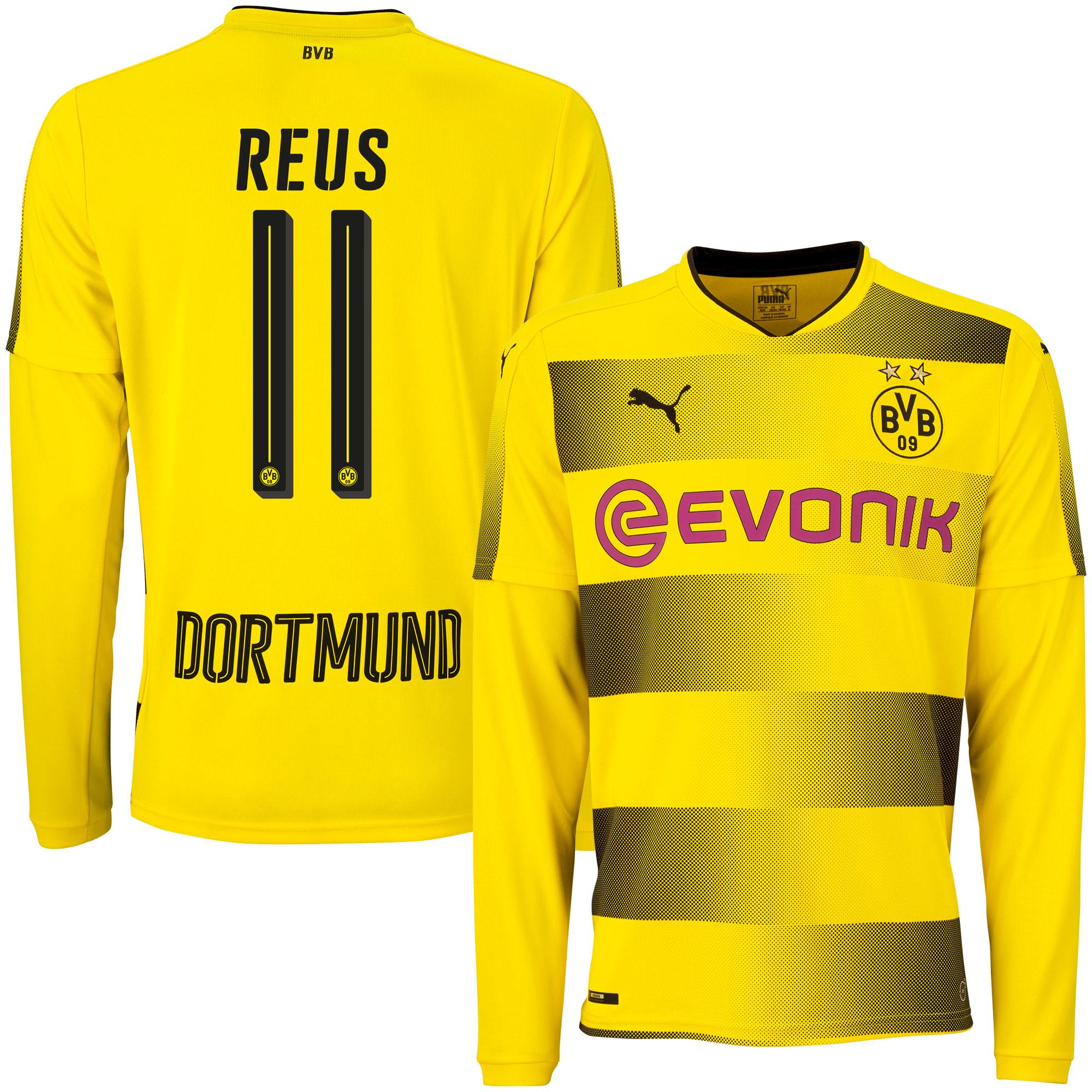Borussia Dortmund Home L/S Reus Jersey 2017 / 2018 - XXL