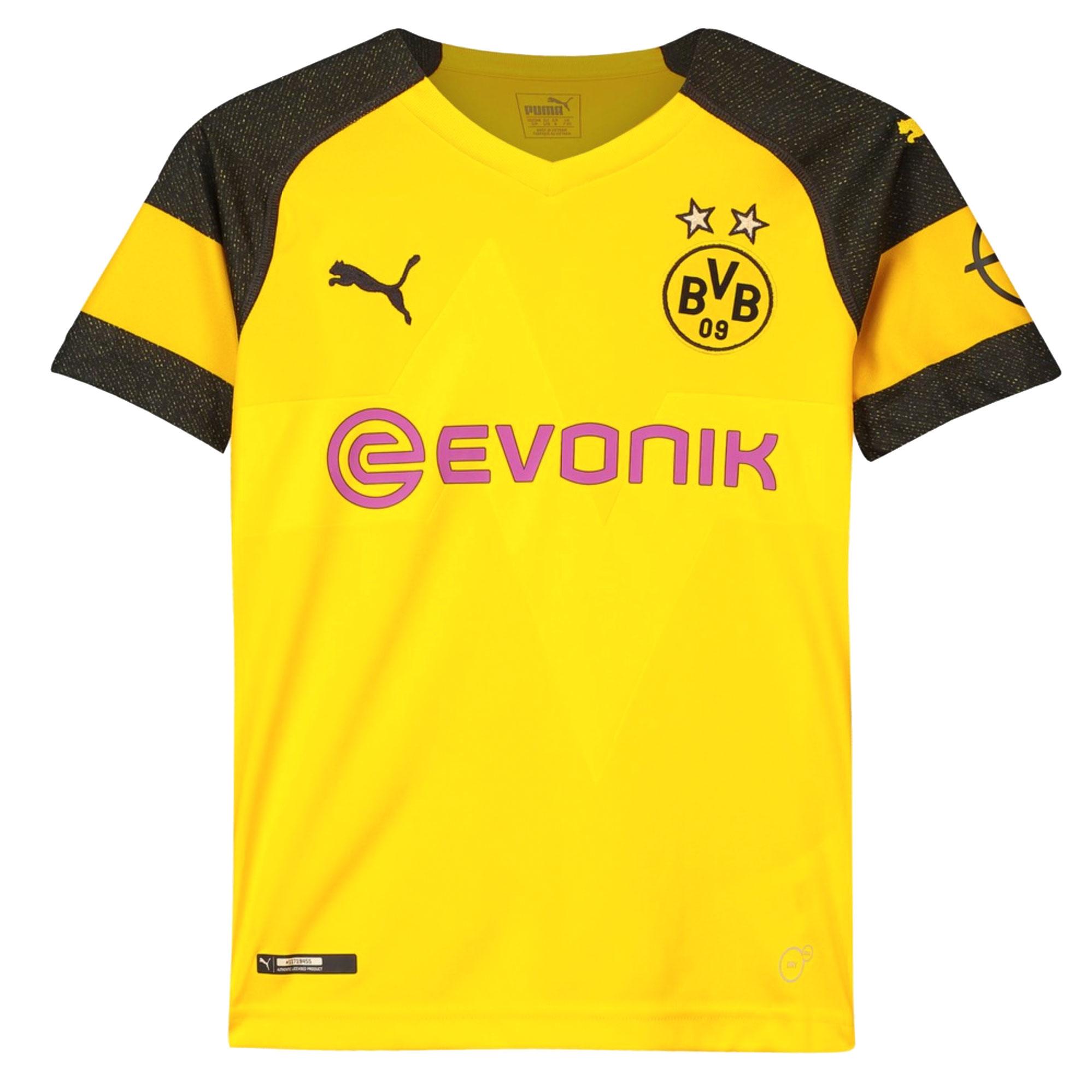 Borussia Dortmund KIDS Home Shirt 2018 2019 - 152