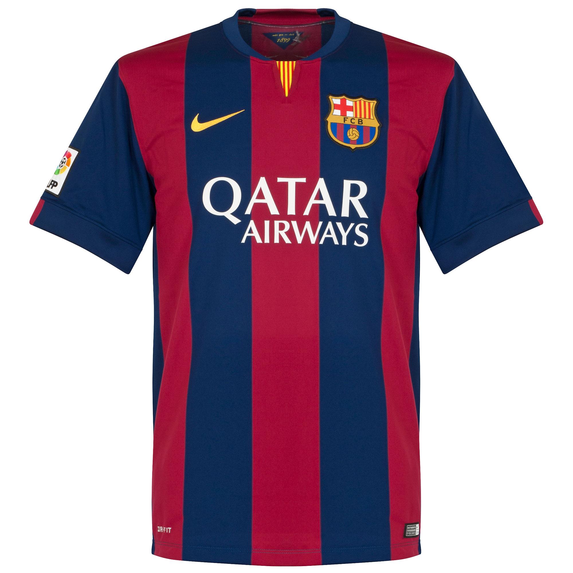 Nike Barcelona Home KIDS Shirt 2014-2015