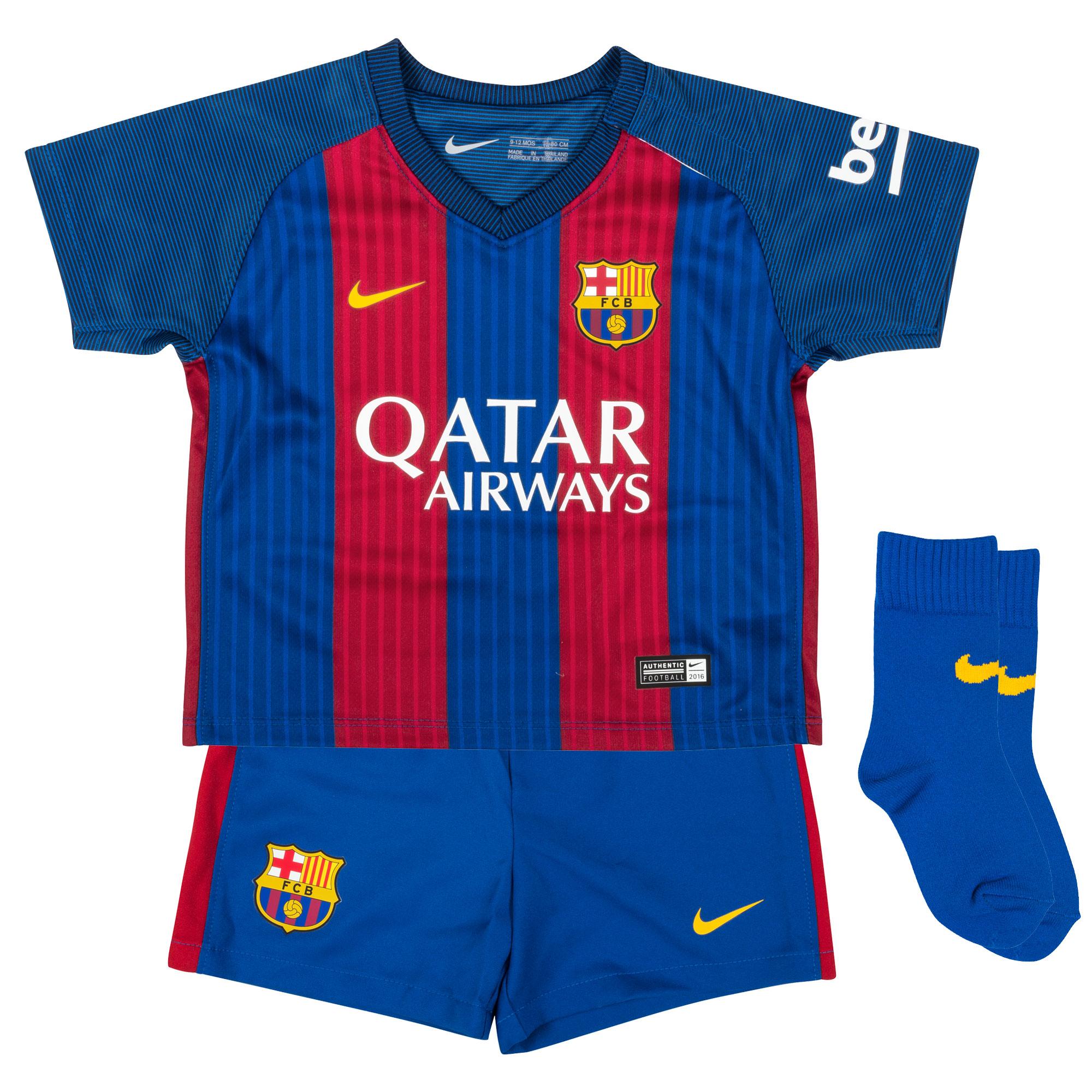 Barcelona Home Infant Kit 2016 2017