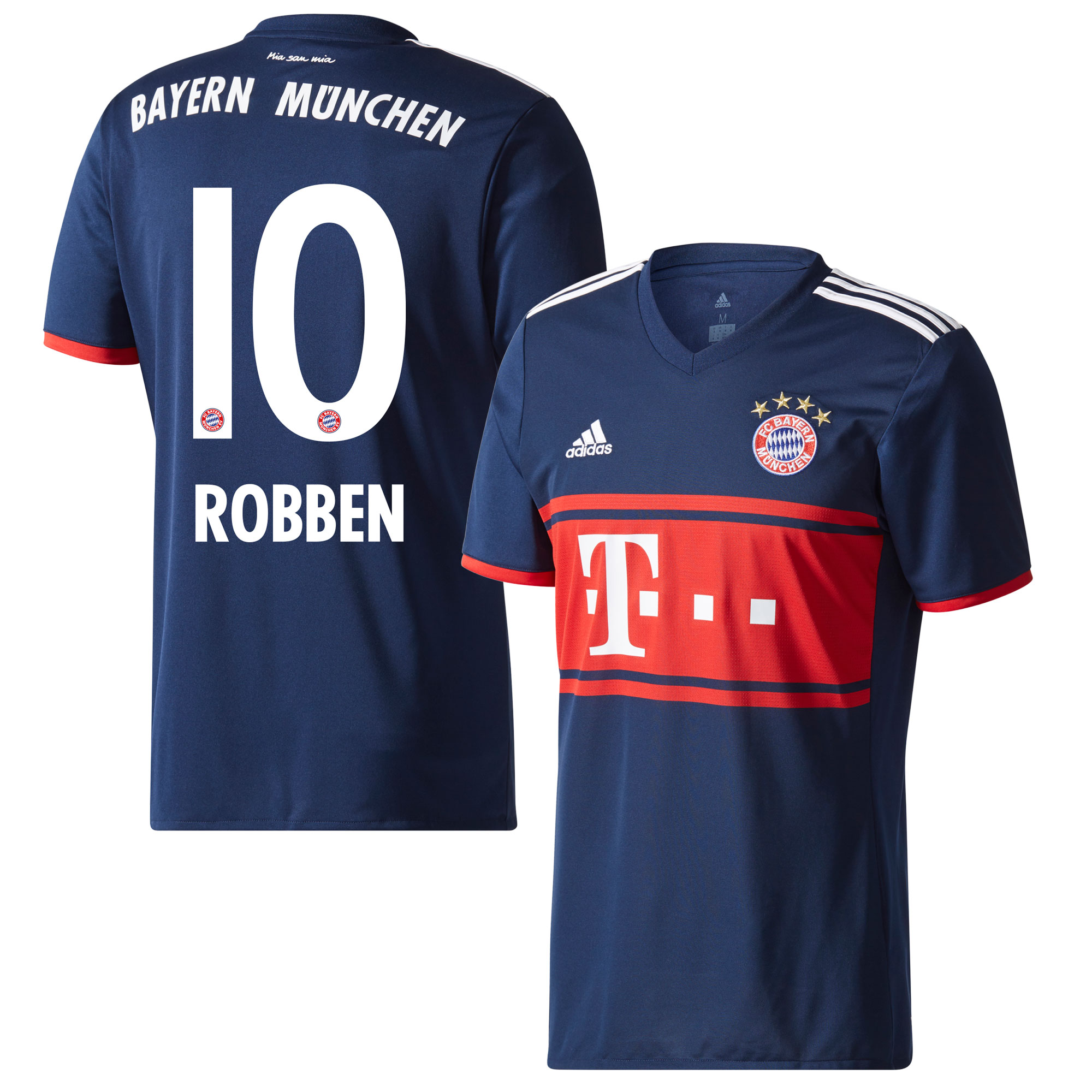 Bayern Munich Away Robben Jersey 2017 / 2018 (Official Printing) - 54