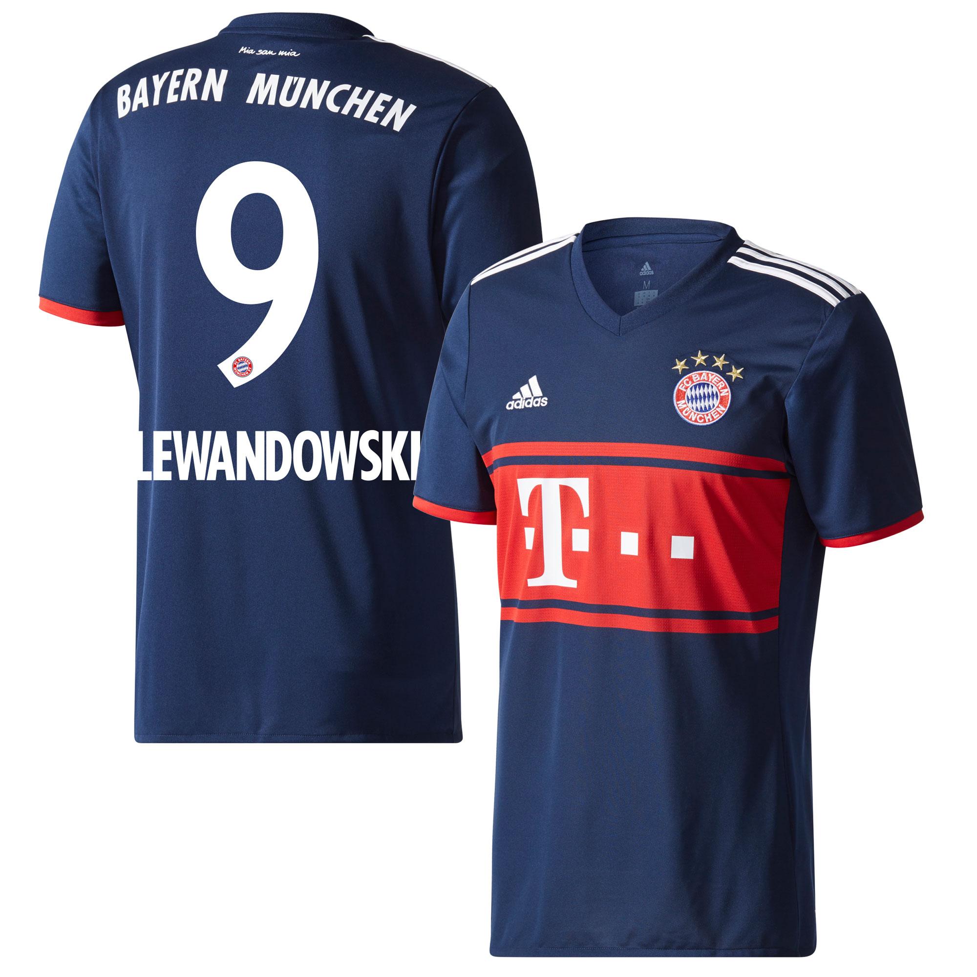 Bayern Munich Away Lewandowski Jersey 2017 / 2018 (Official Printing) - 50