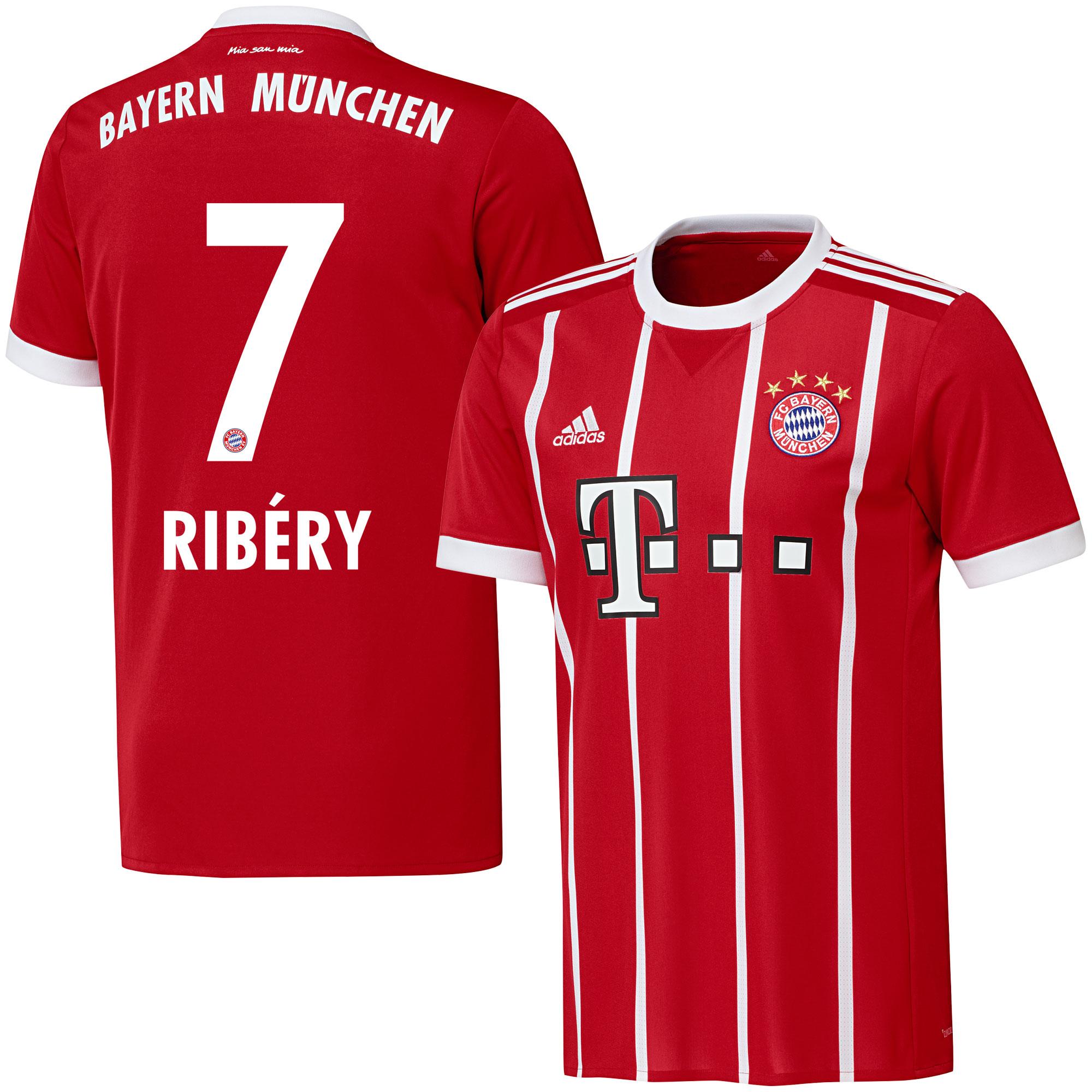 Bayern Munich Home Ribéry Jersey 2017 / 2018 (Official Printing) - 58
