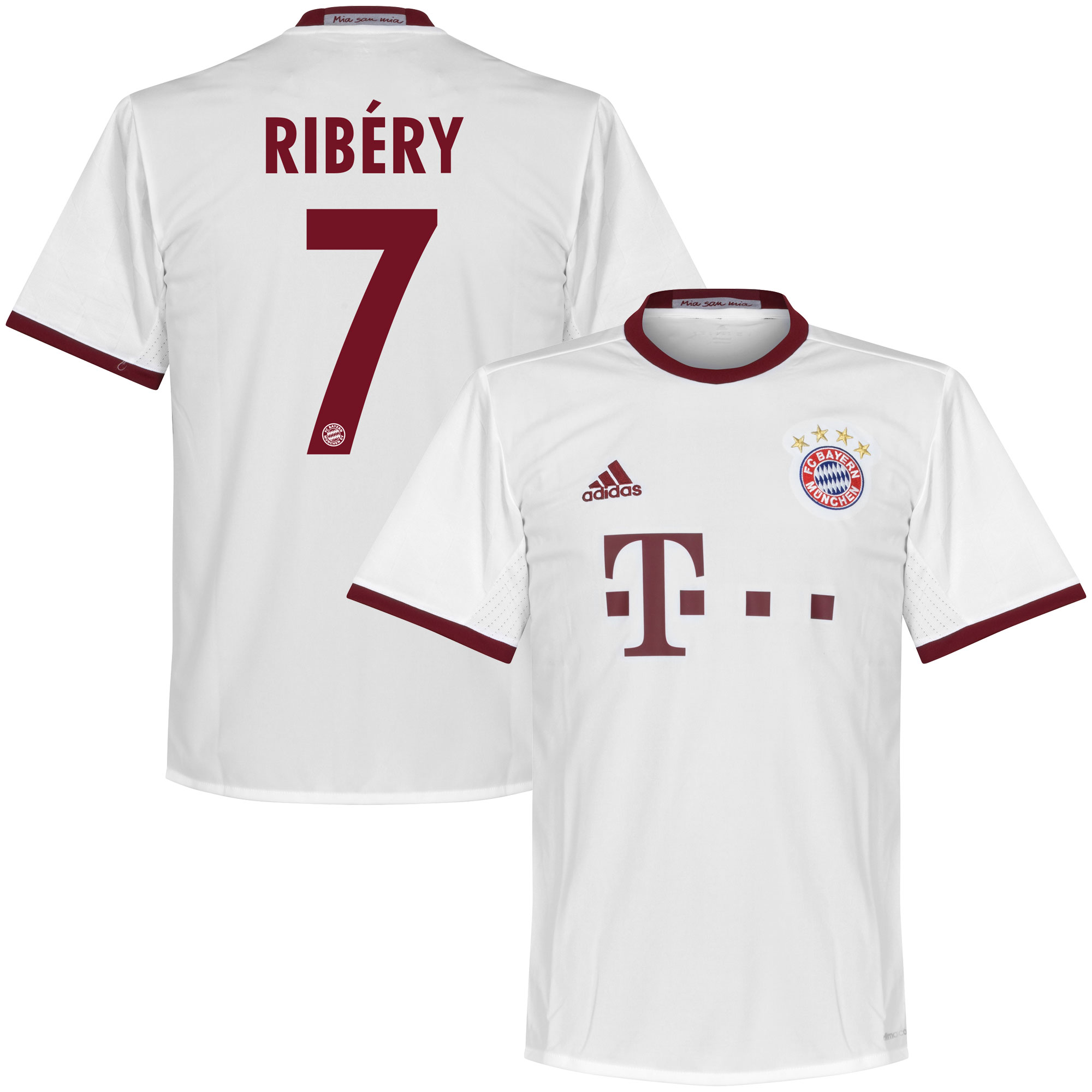 Bayern Munich 3rd Ribéry Jersey 2016 / 2017 (Official Printing) - 66