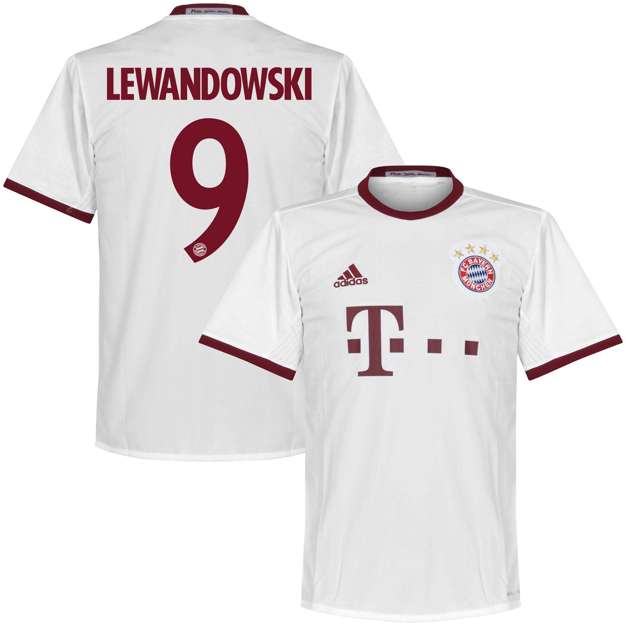 Bayern Munich 3rd Lewandowski Jersey 2016 / 2017 (Official Printing) - 66
