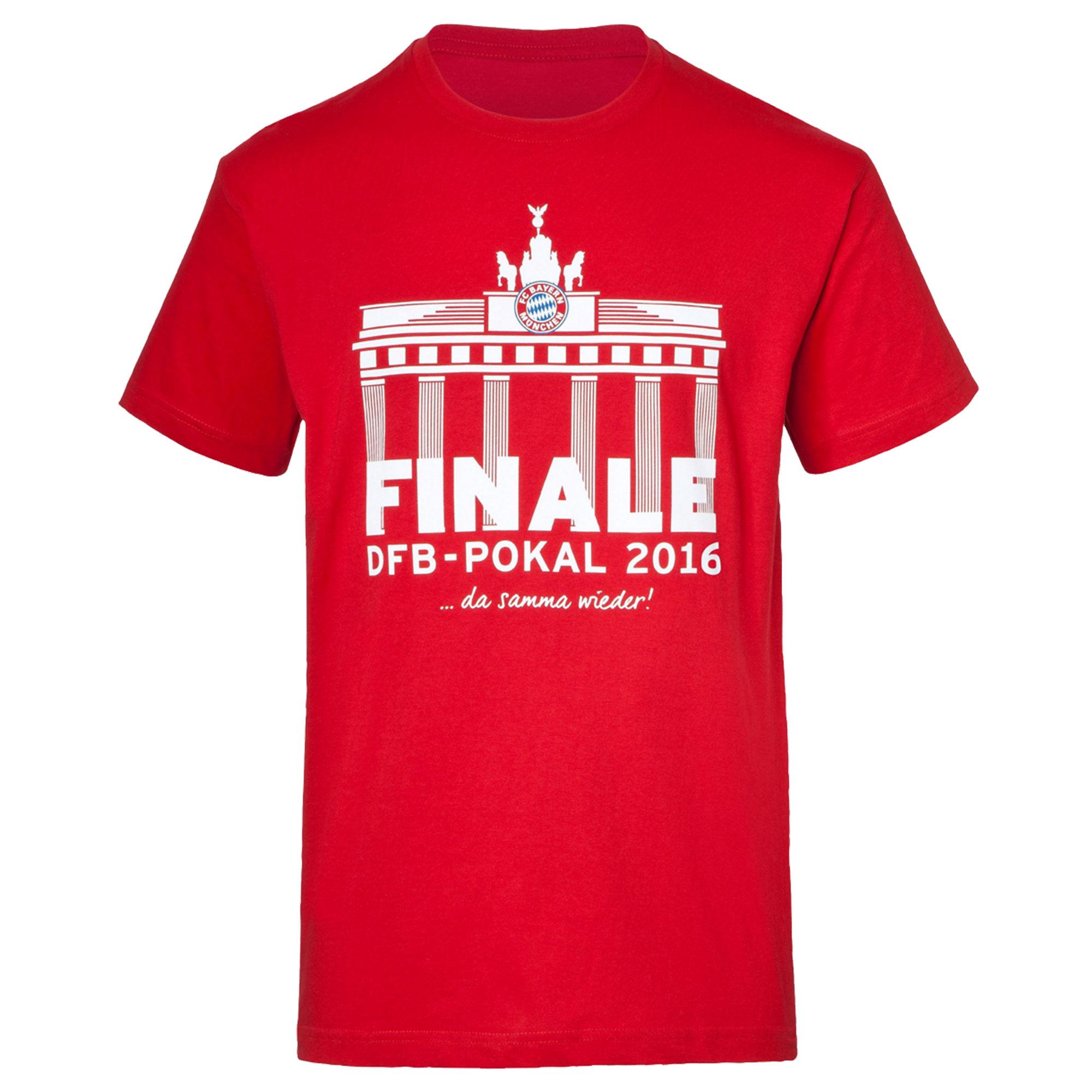 2016 Bayern Munich Pokalfinale Tee - L