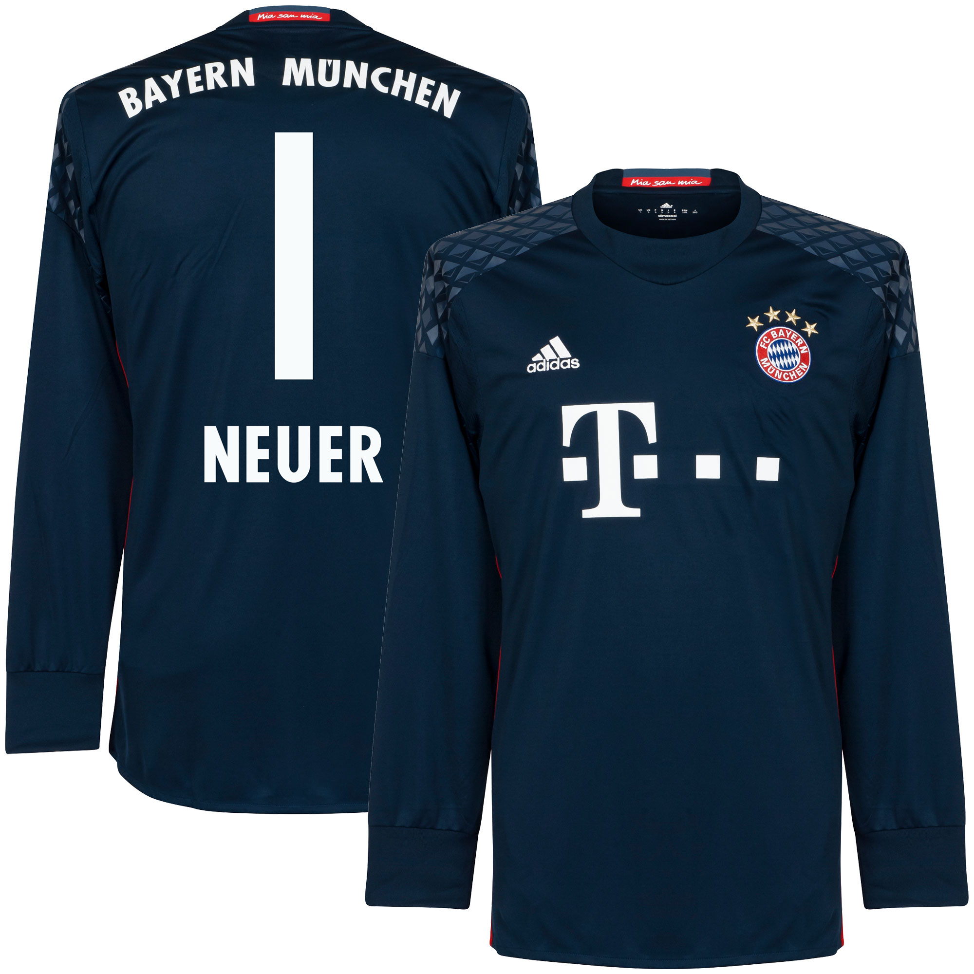 Bayern Munich Home KIDS Neuer Goalkeeper Jersey 2016 / 2017 (Fan Style Printing) - 128