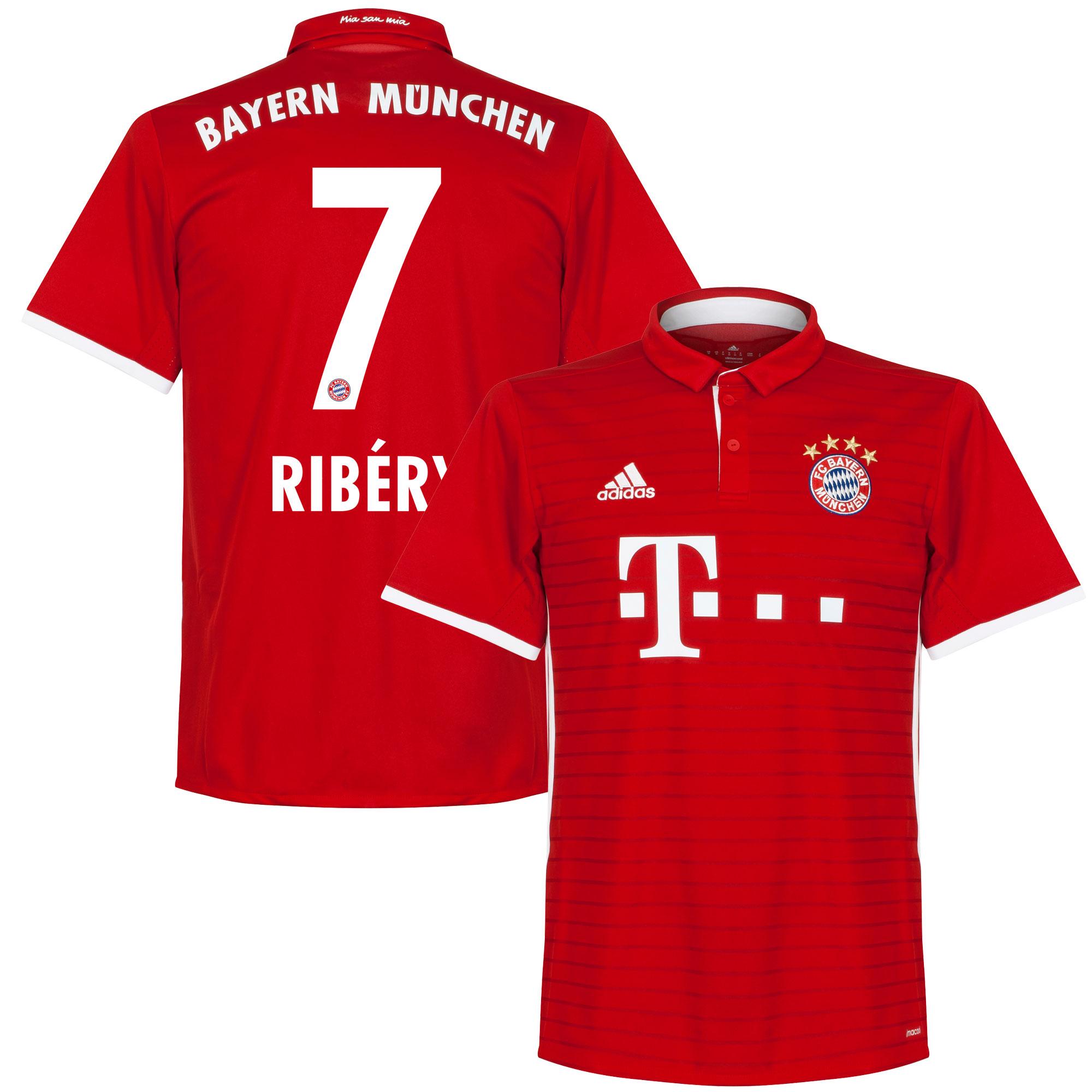 Bayern Munich Home Ribéry Jersey 2016 / 2017 - 46