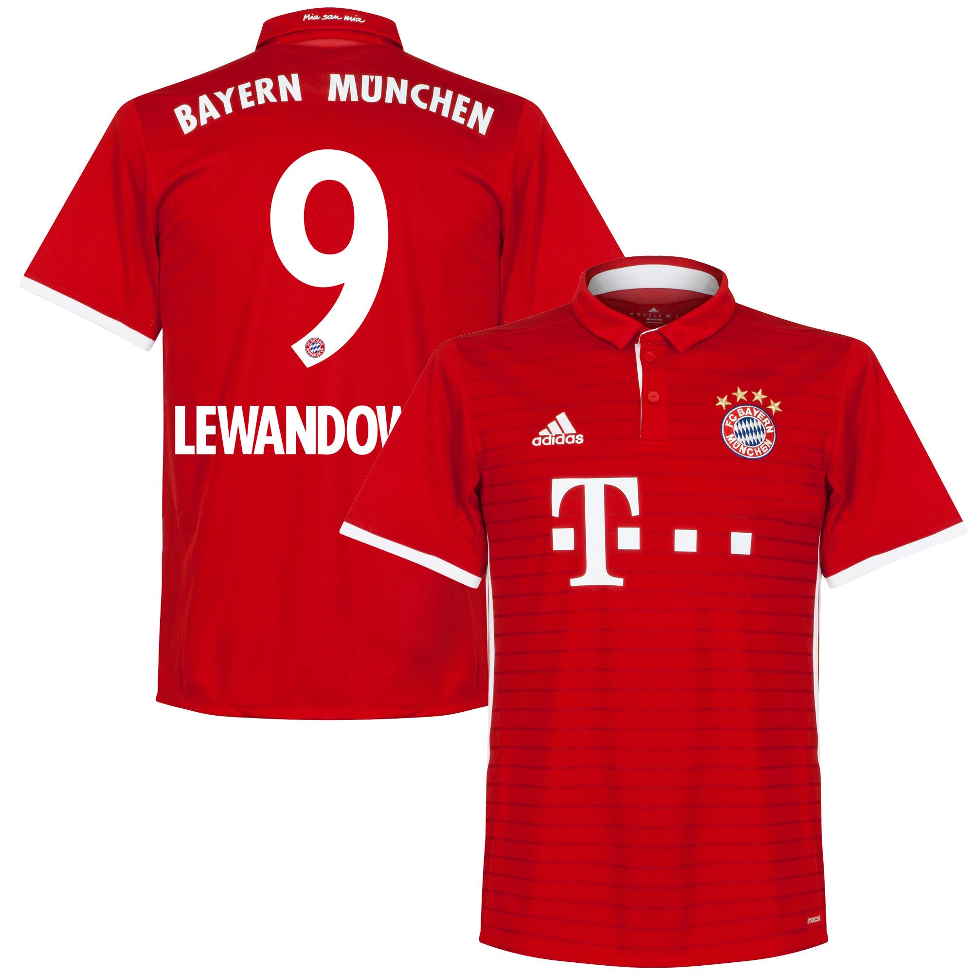 Bayern Munich Home Lewandowski Jersey 2016 / 2017 - 46