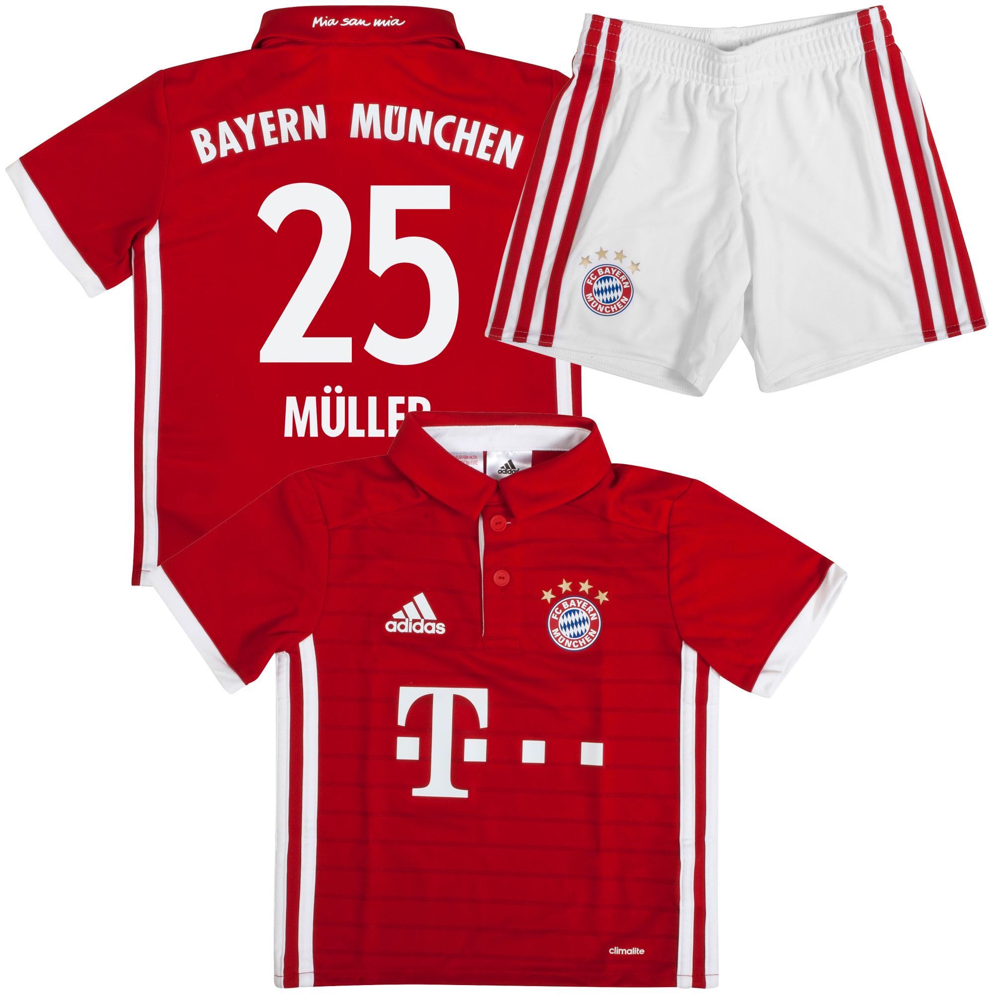 Bayern München Mini Tenue Thuis 2016-2017 + Müller 25 Baby