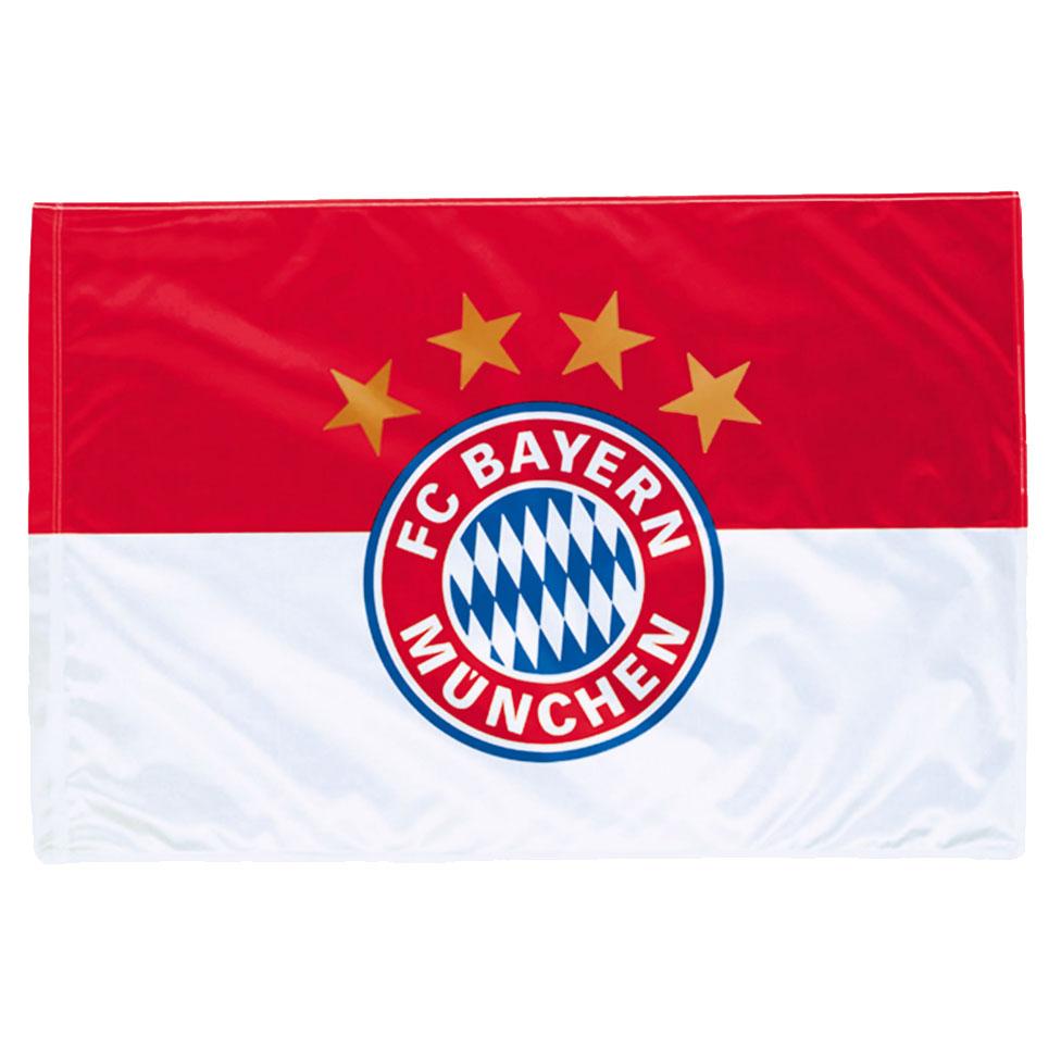 Bayern Munich Logo Flag (90x60 cm) - OS