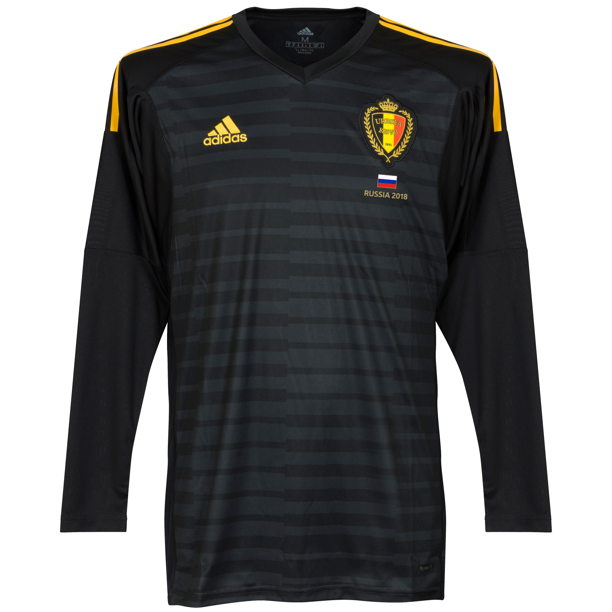Belgium Home Goalkeeper Jersey 2018 / 2019 + FREE Russia 2018 Commemorative Transfer - 54