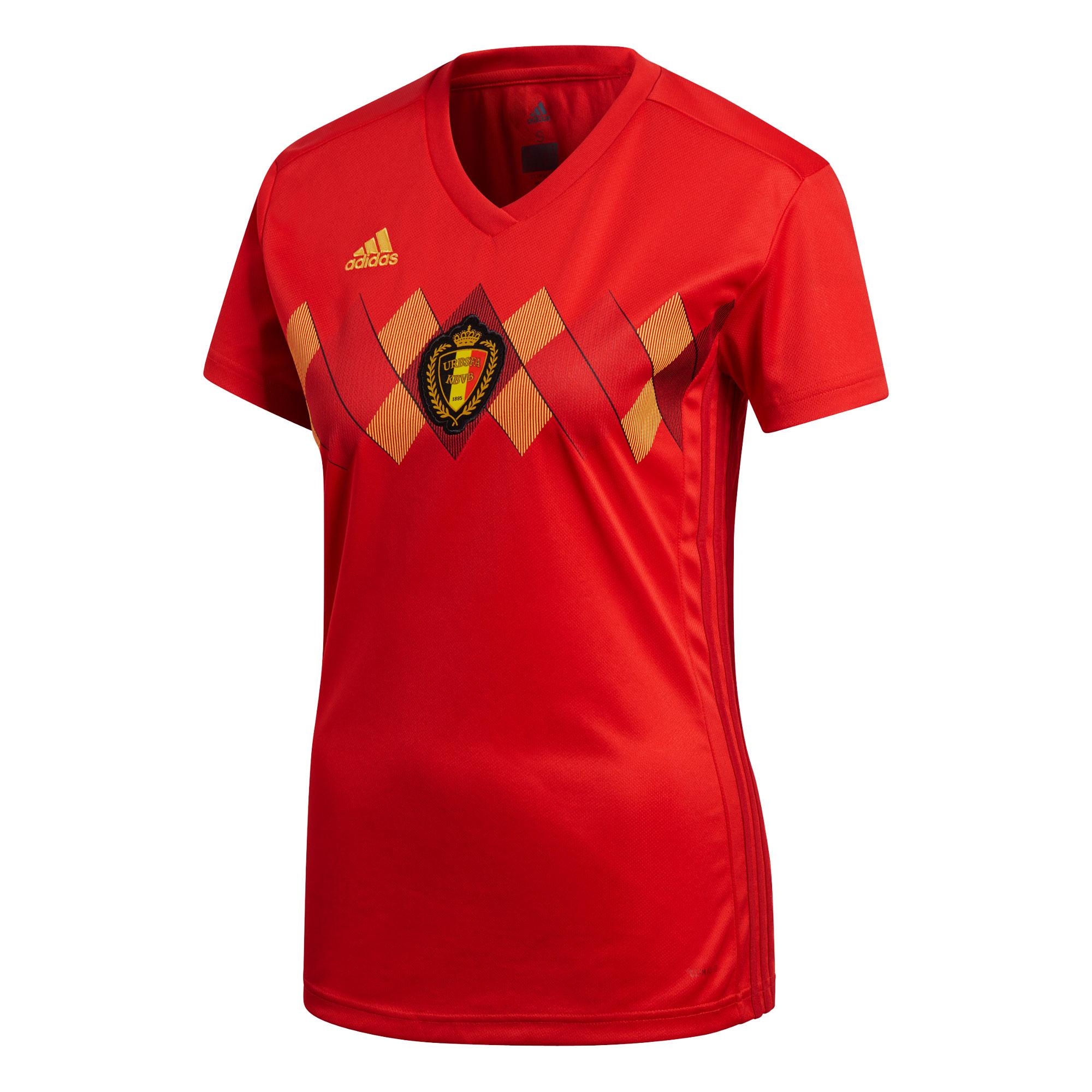Belgium Home Womens Jersey 2018 / 2019 - 36W