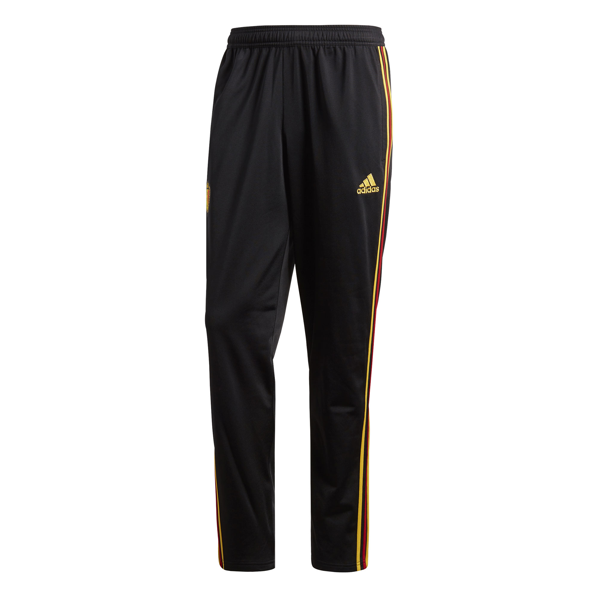 Belgium Polyester Training Pants 2018 / 2019 - Black/Gold - 62