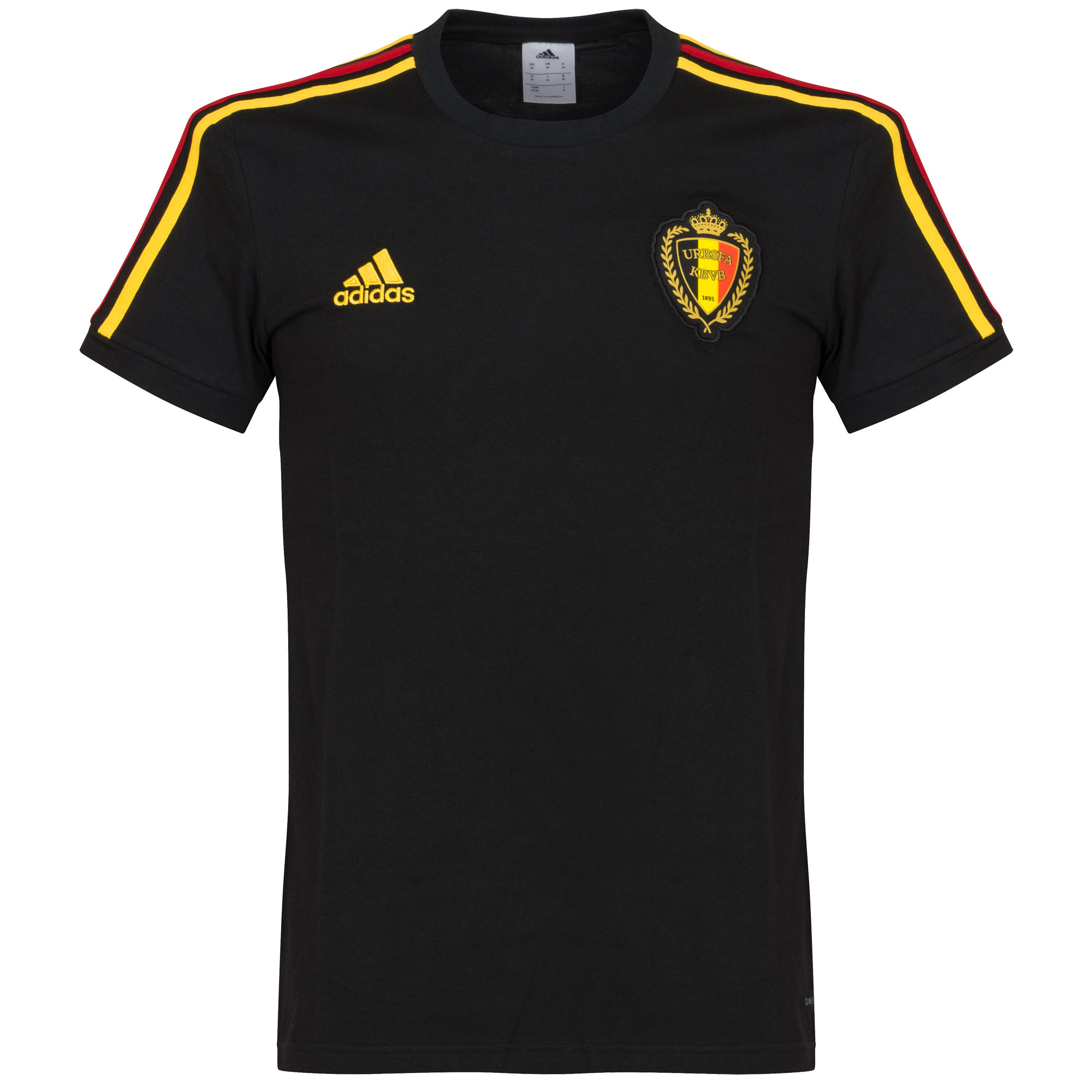 Belgium Tee 2018 / 2019 - Black - 50