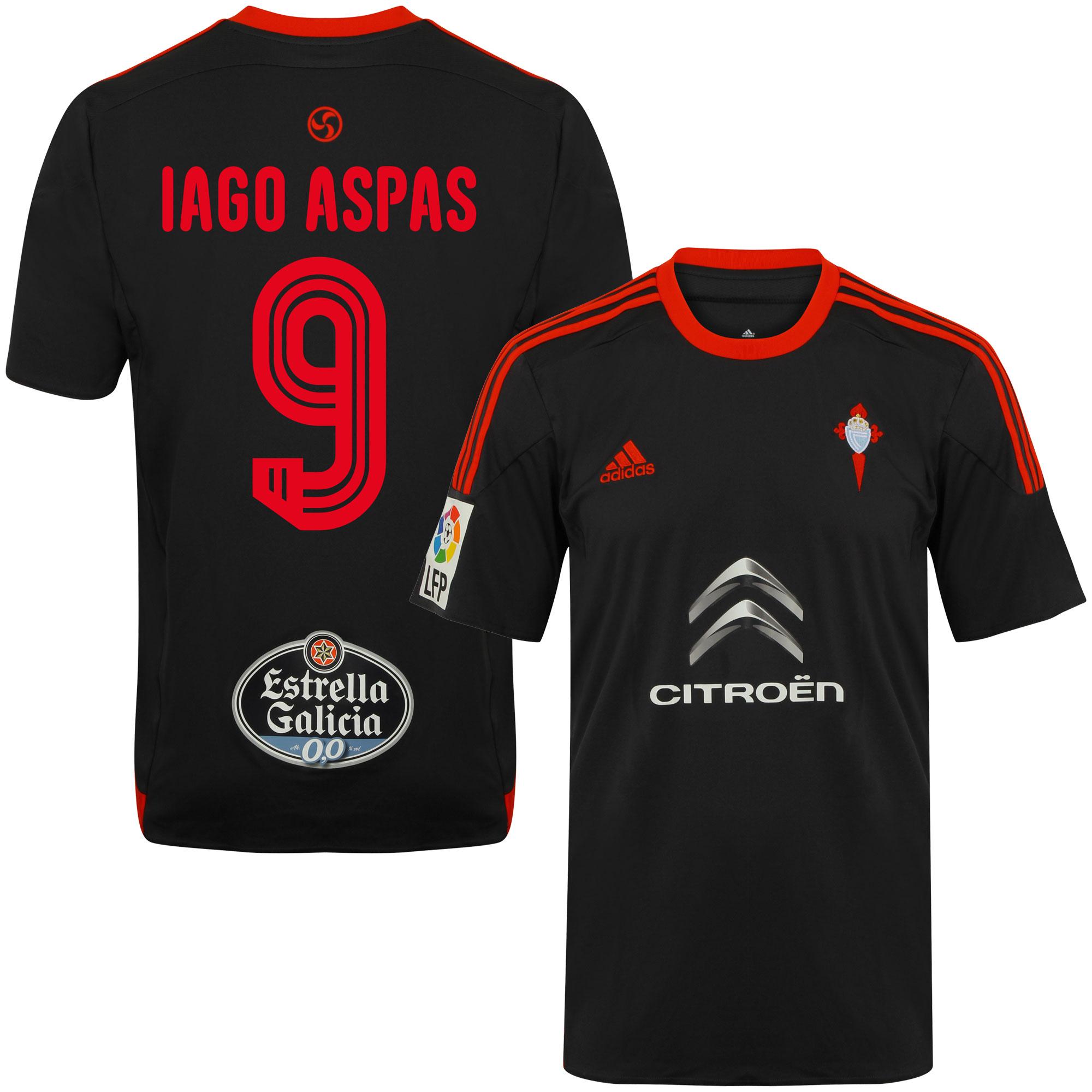 Celta Vigo Away Iago Aspas Jersey 2015 / 2016 (Fan Style Printing) - 46