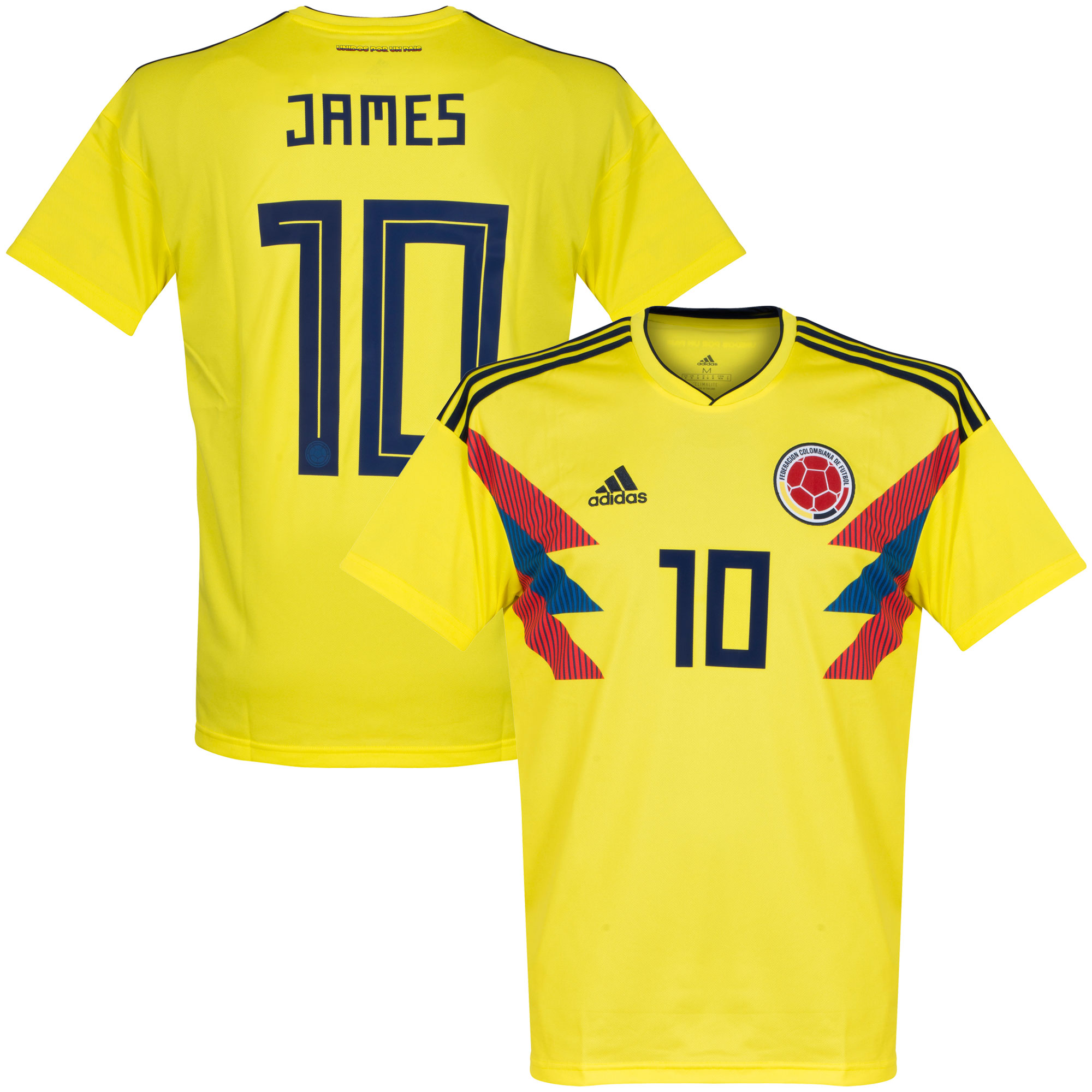 Colombia Home James Jersey 2018 / 2019 - 58