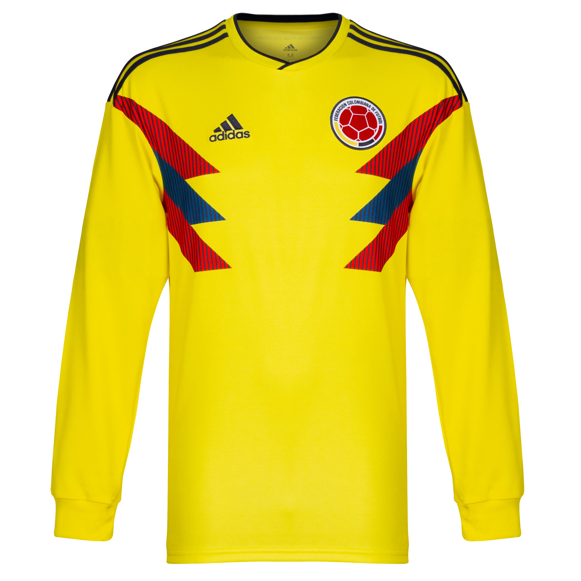 Colombia Home long sleeve Shirt 2018 2019 - 46