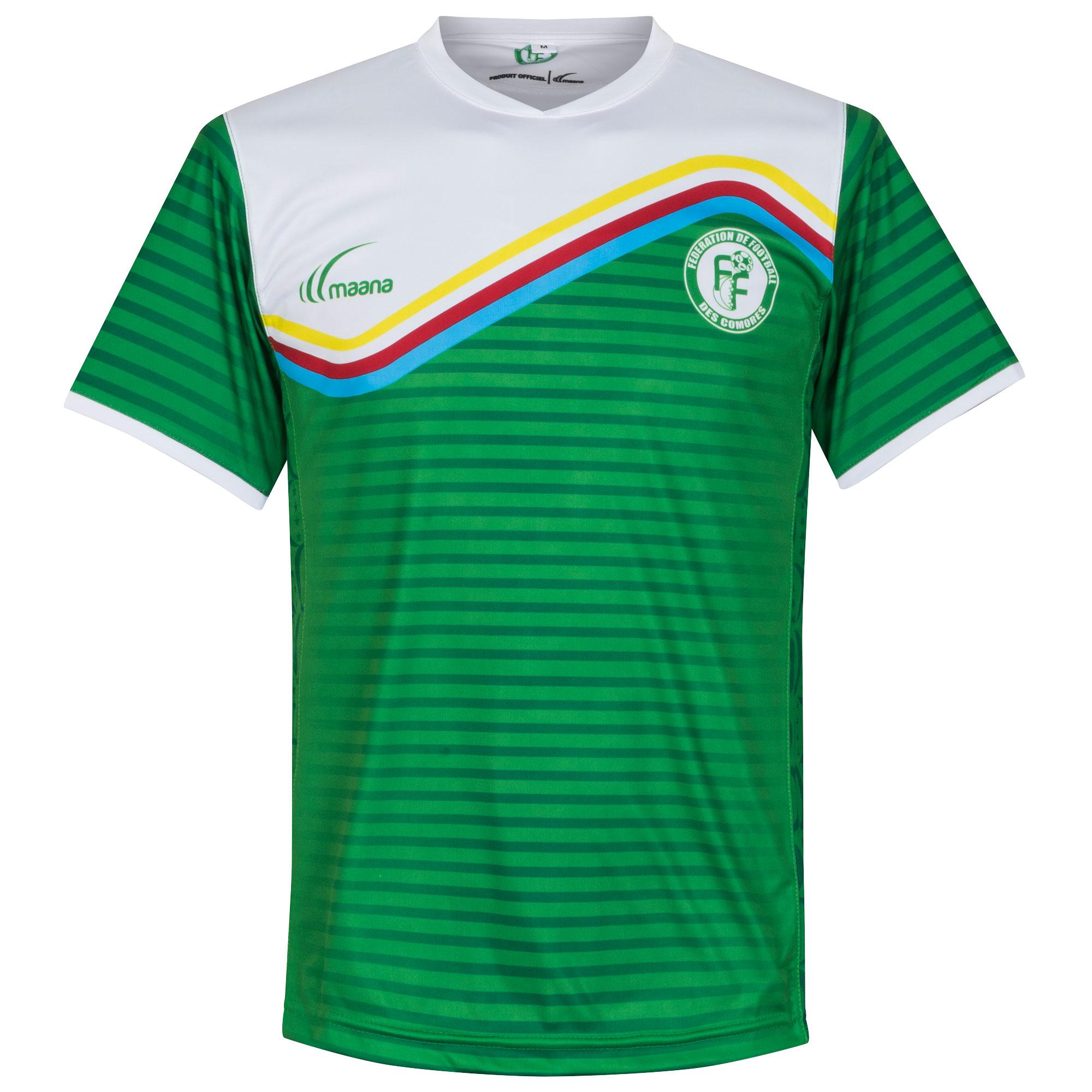 Comoros Islands National Team Home Shirt 2016 2017 - XL