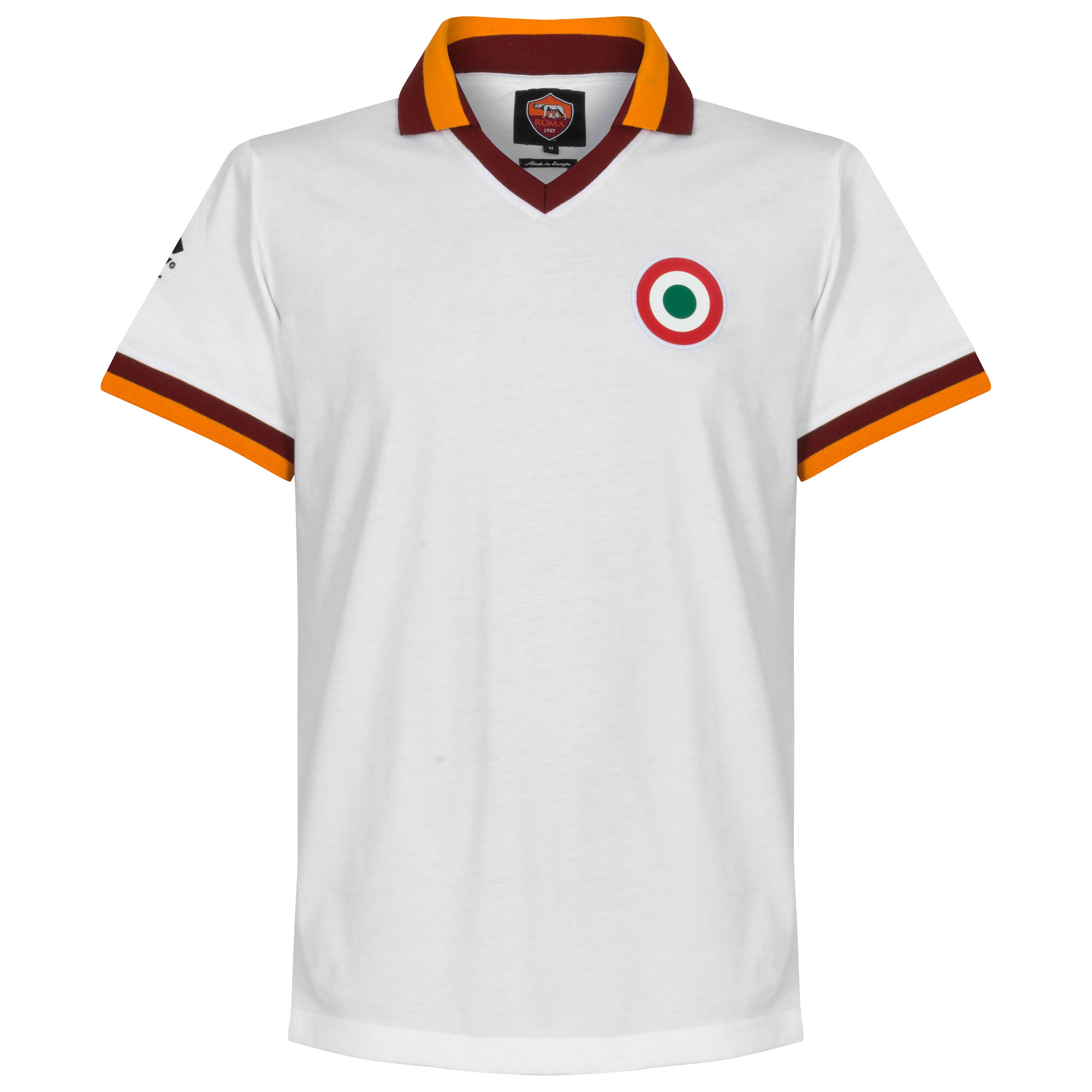 80-81 AS Roma Away Retro Shirt