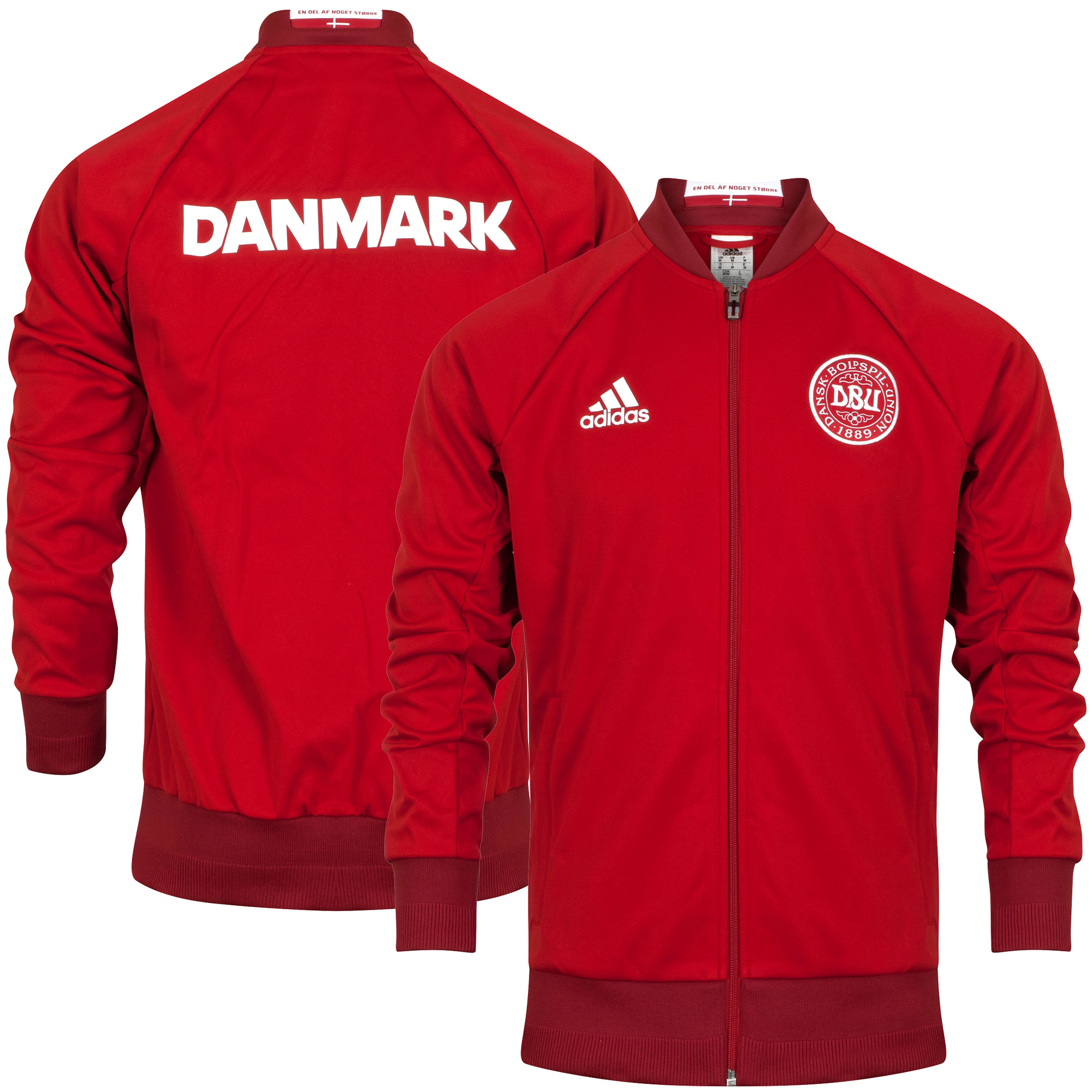 Denemarken Anthem Trainingsjack 2016-2017