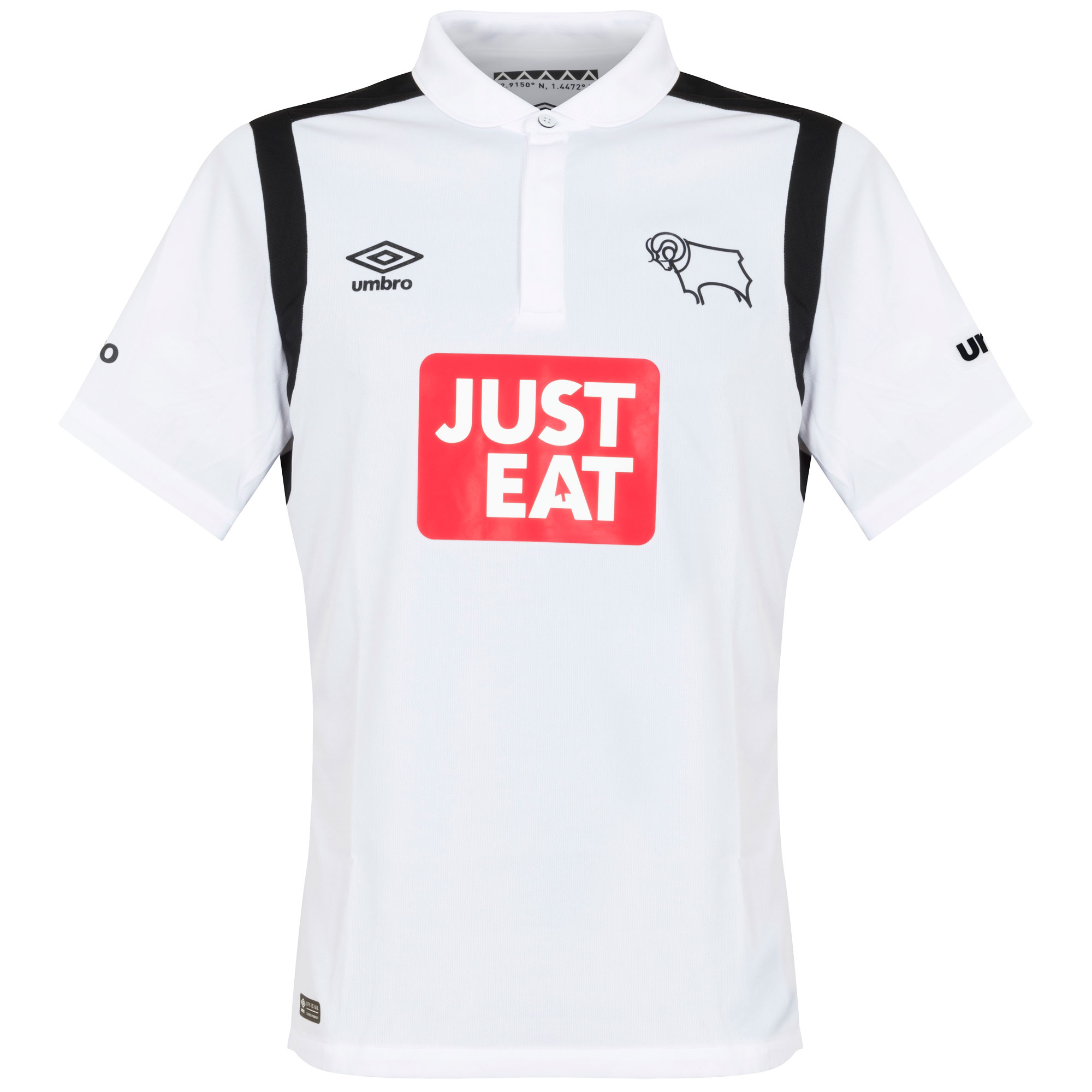 Derby County Home Shirt 2016 2017