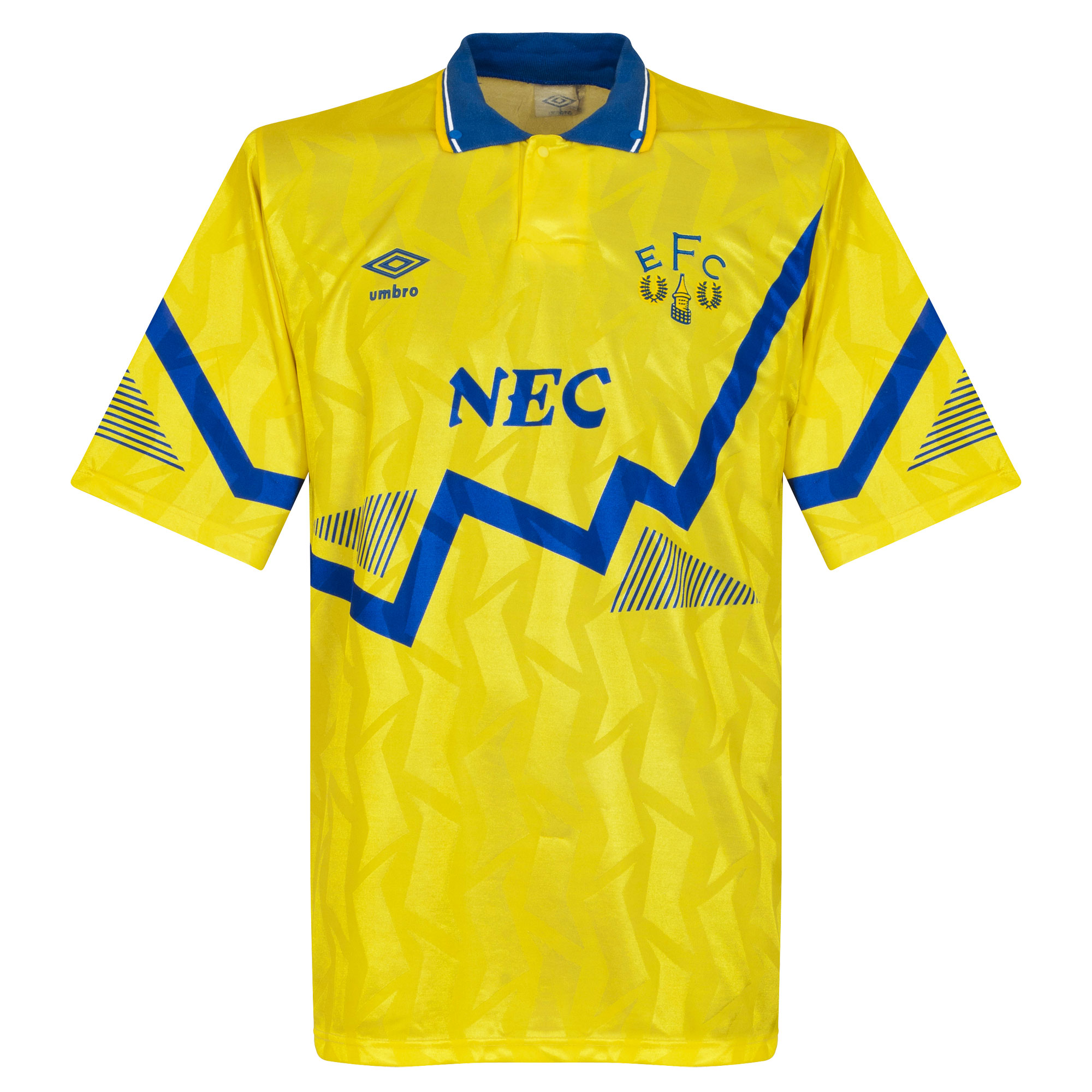 Umbro Everton 1990-1992 Away Shirt - USED Condition (Poor) - Size Large