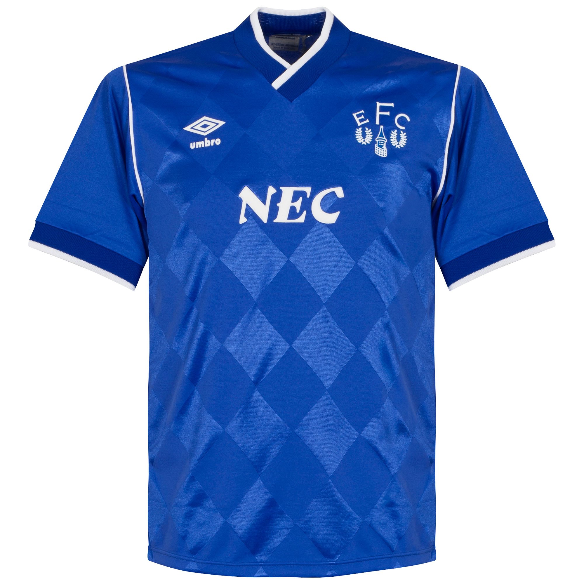 Umbro Everton 1986-1989 Home Shirt - Like NEW Condition - Size M