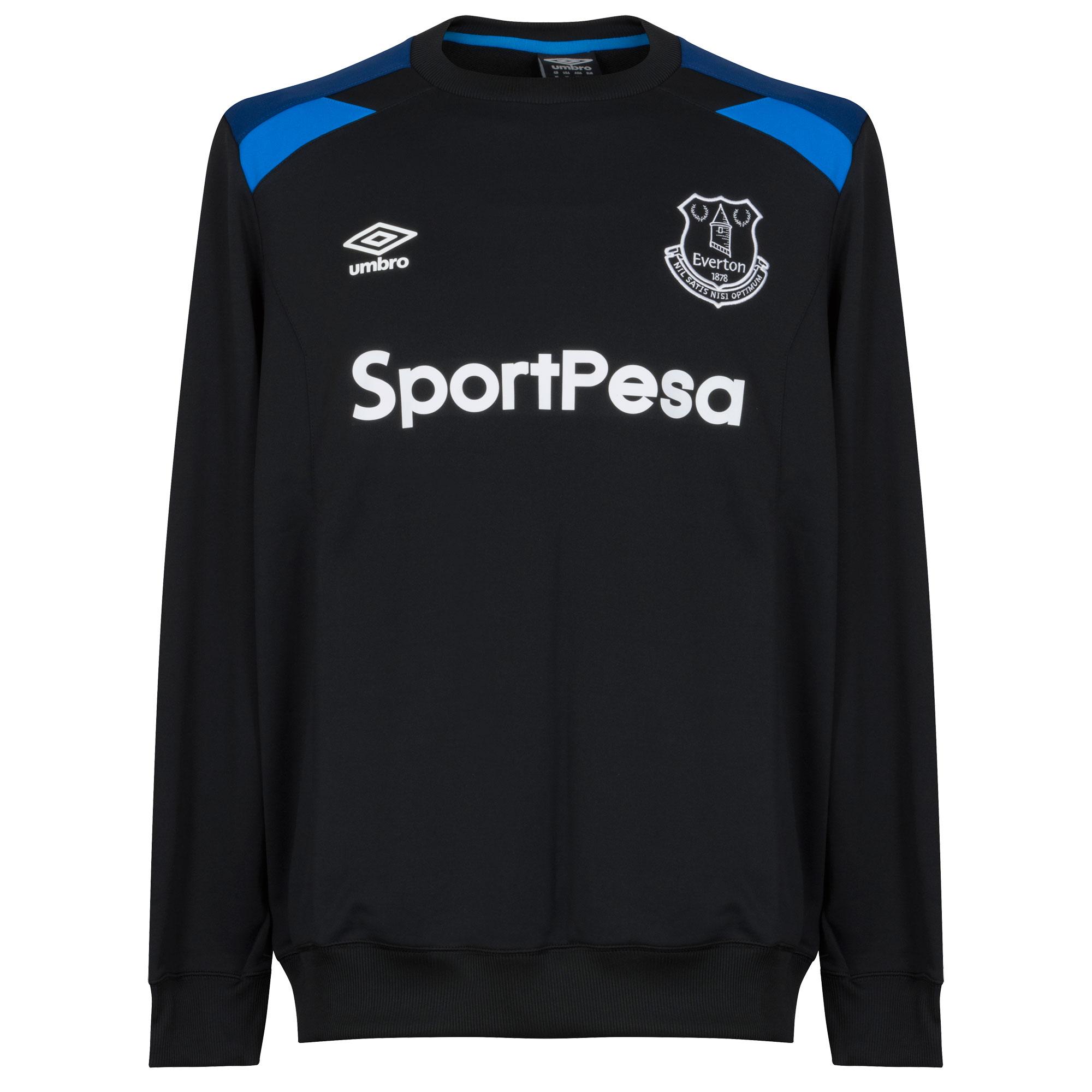 Everton Training Top 2017 / 2018 - Black - S