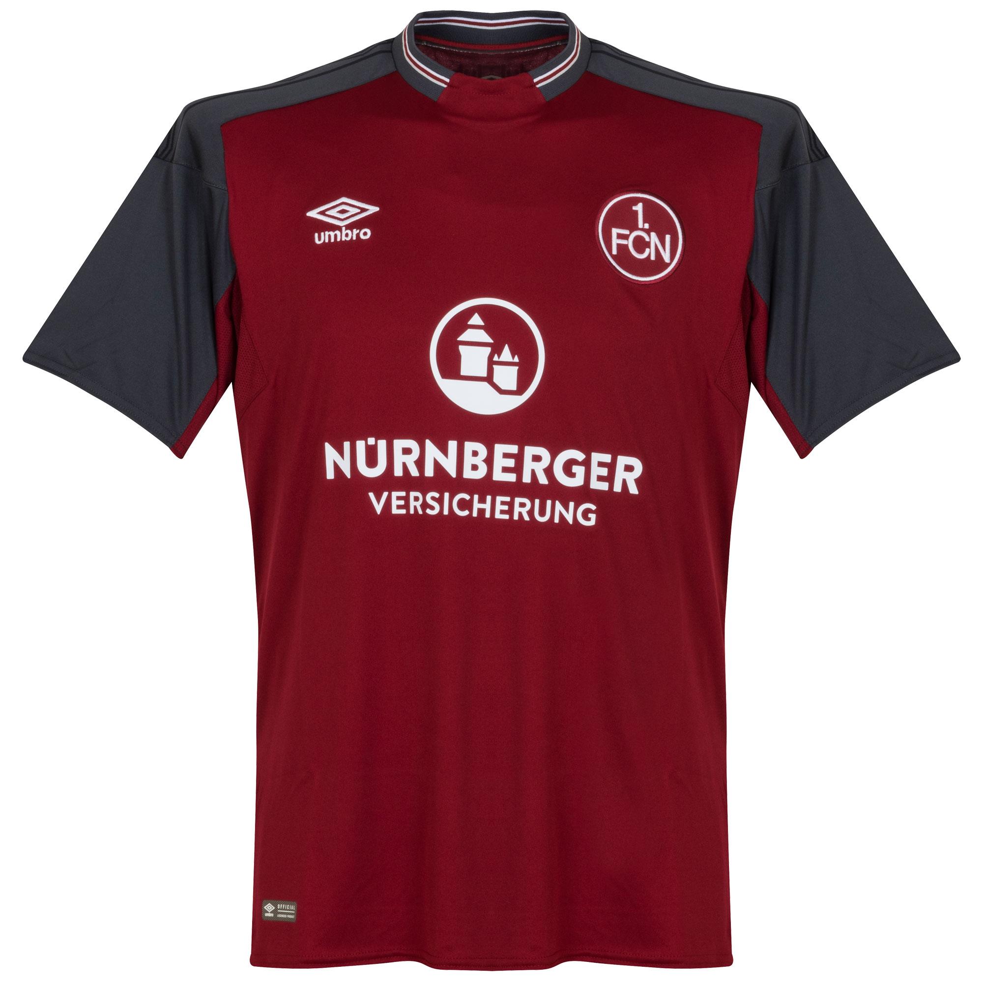 1.FC Nurnberg Home Shirt 2017 2018 - S