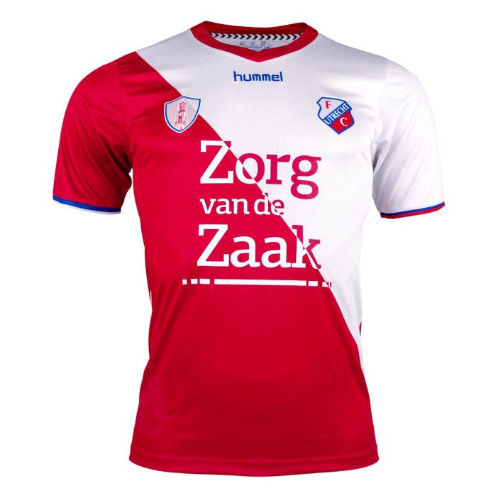 FC Utrecht Home Shirt 2018 2019