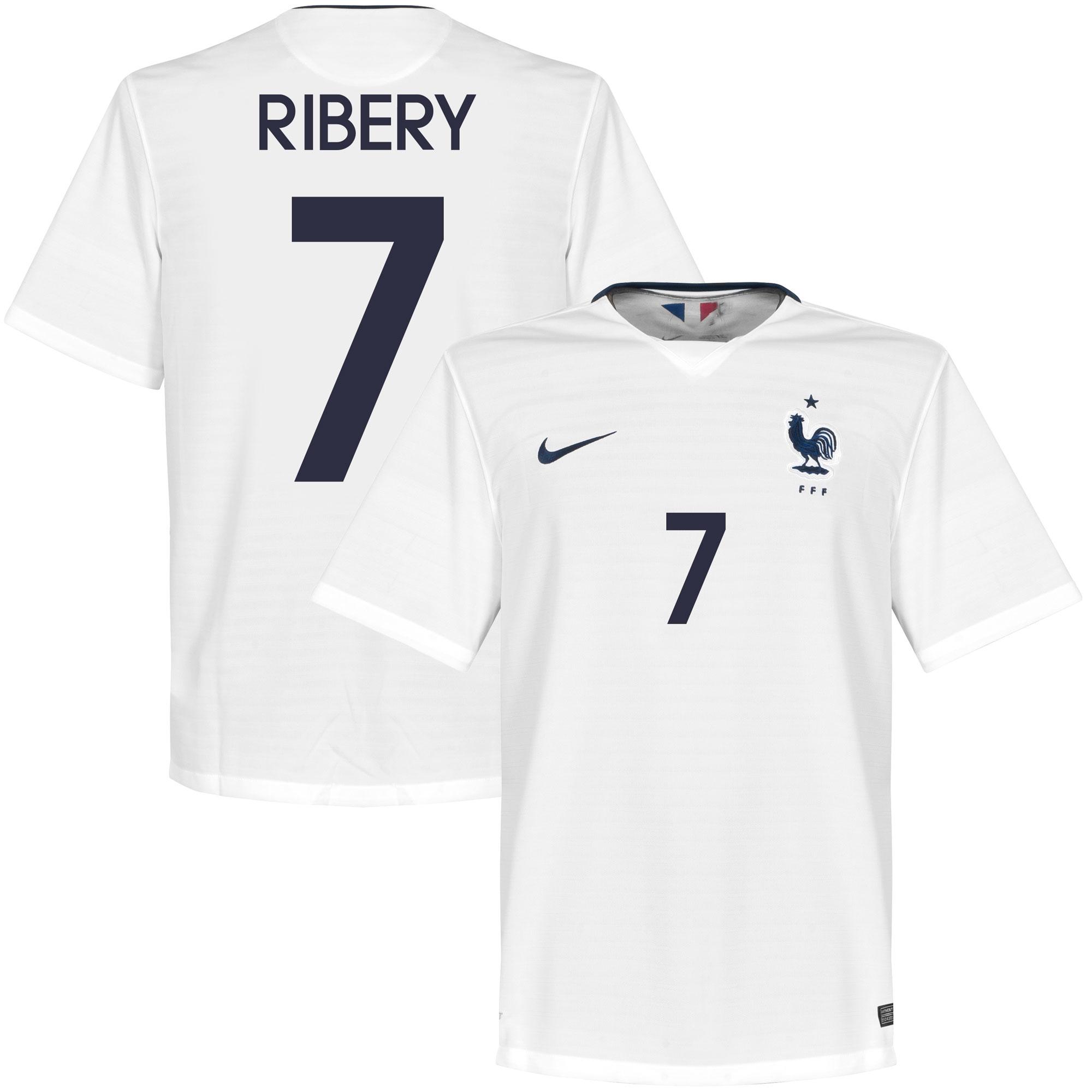 France Away Ribery Jersey 2015 / 2016 (Fan Style Printing) - XXL