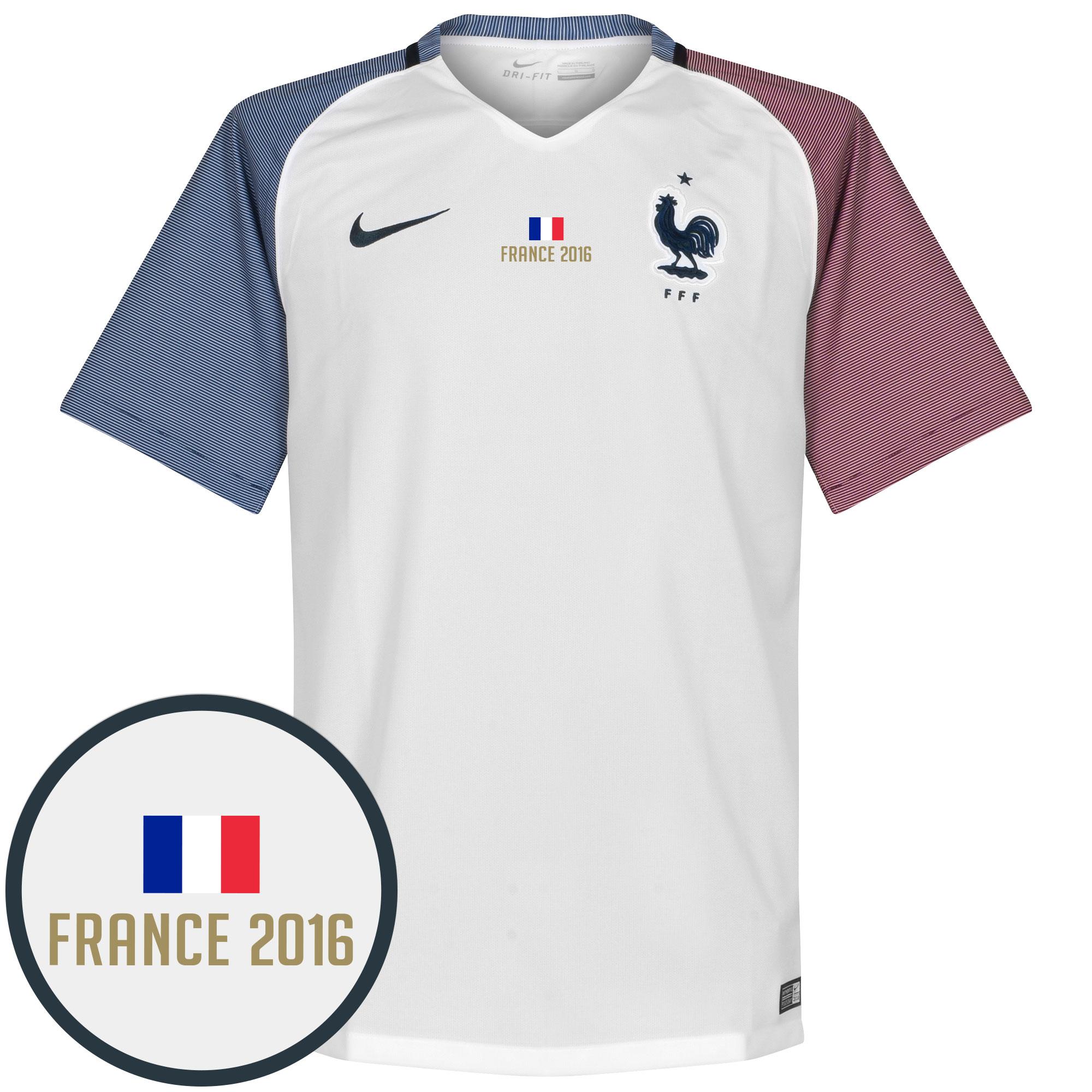 France Away Jersey 2016 / 2017 + France 2016 Transfer - XL