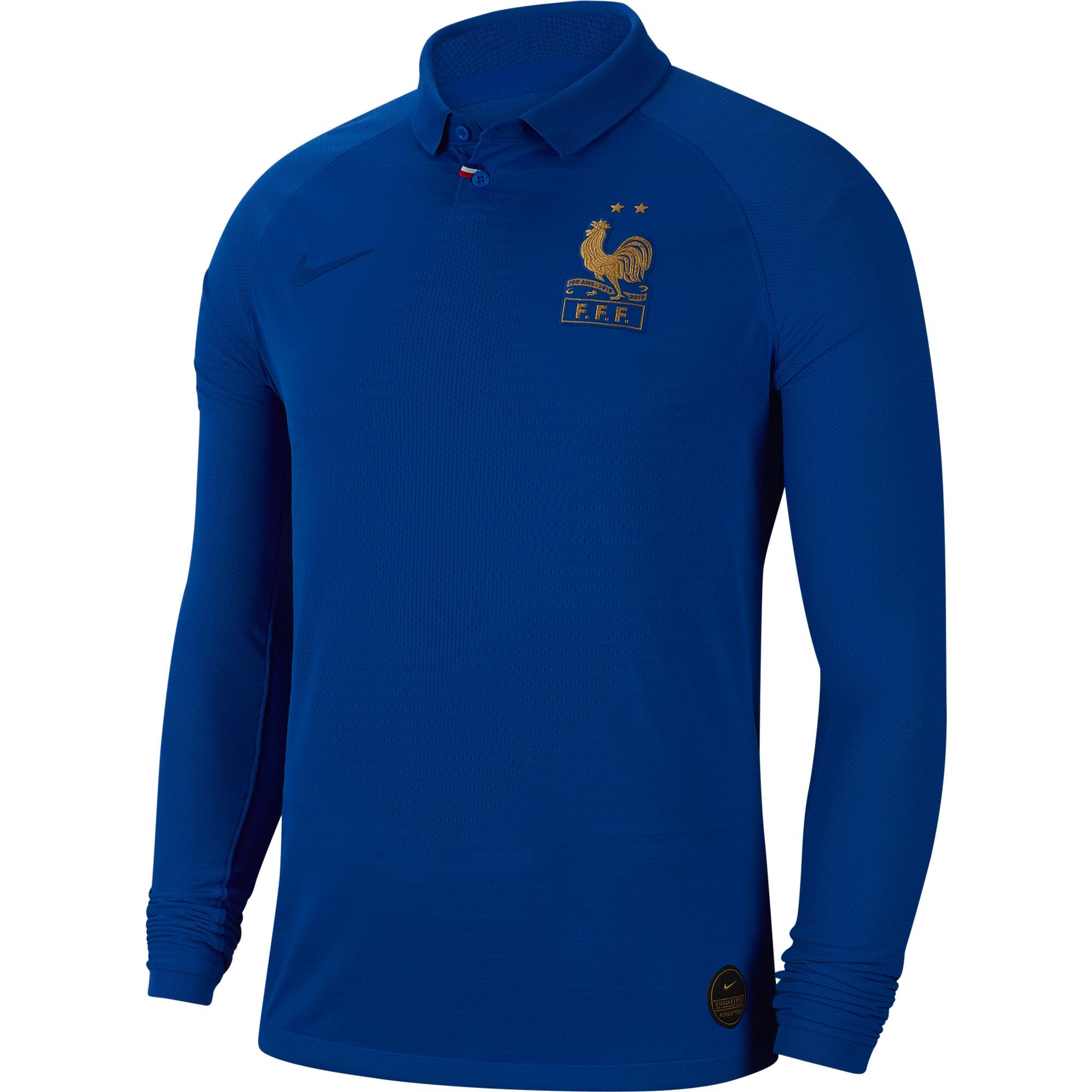 Nike France Centennial Vapor Match L/S Shirt 2019-2020