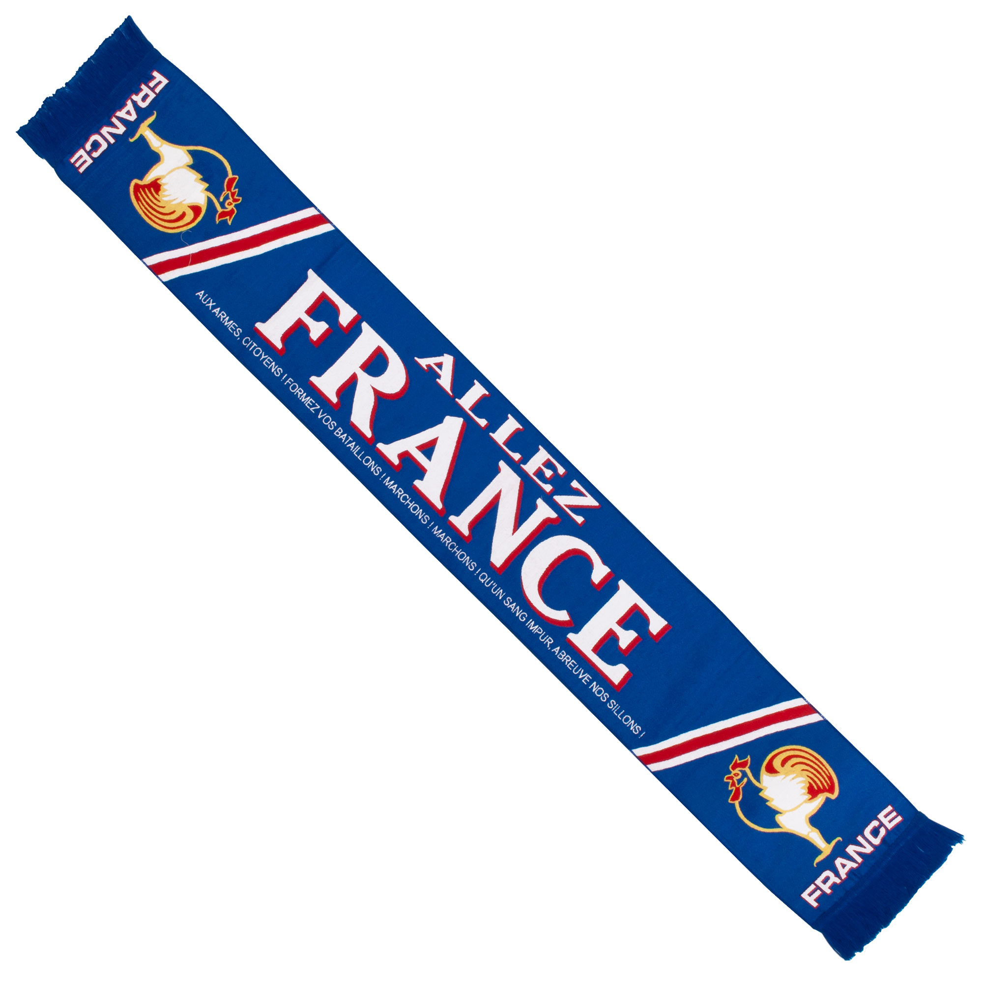 France Knitted Scarf - Royal - OS