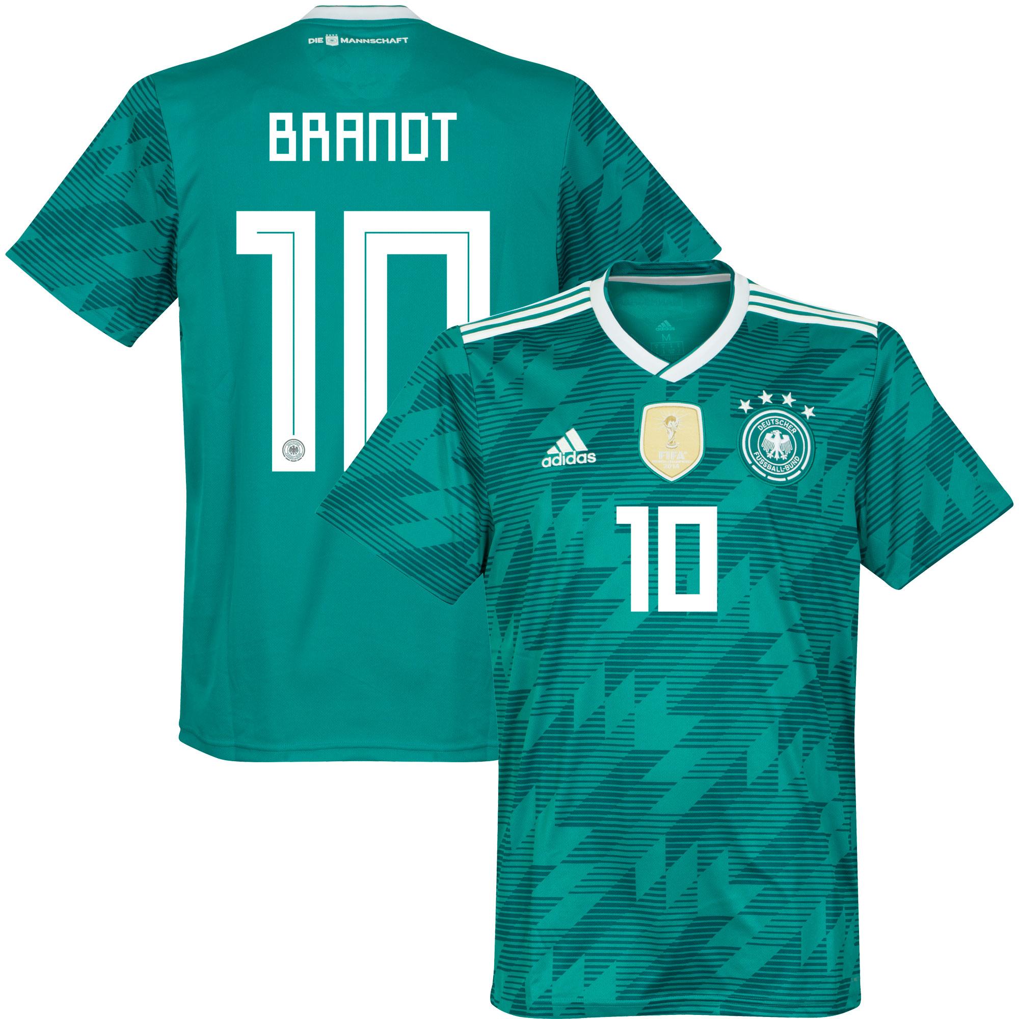 Germany Away Brandt 10 Shirt 2018 2019 - 42