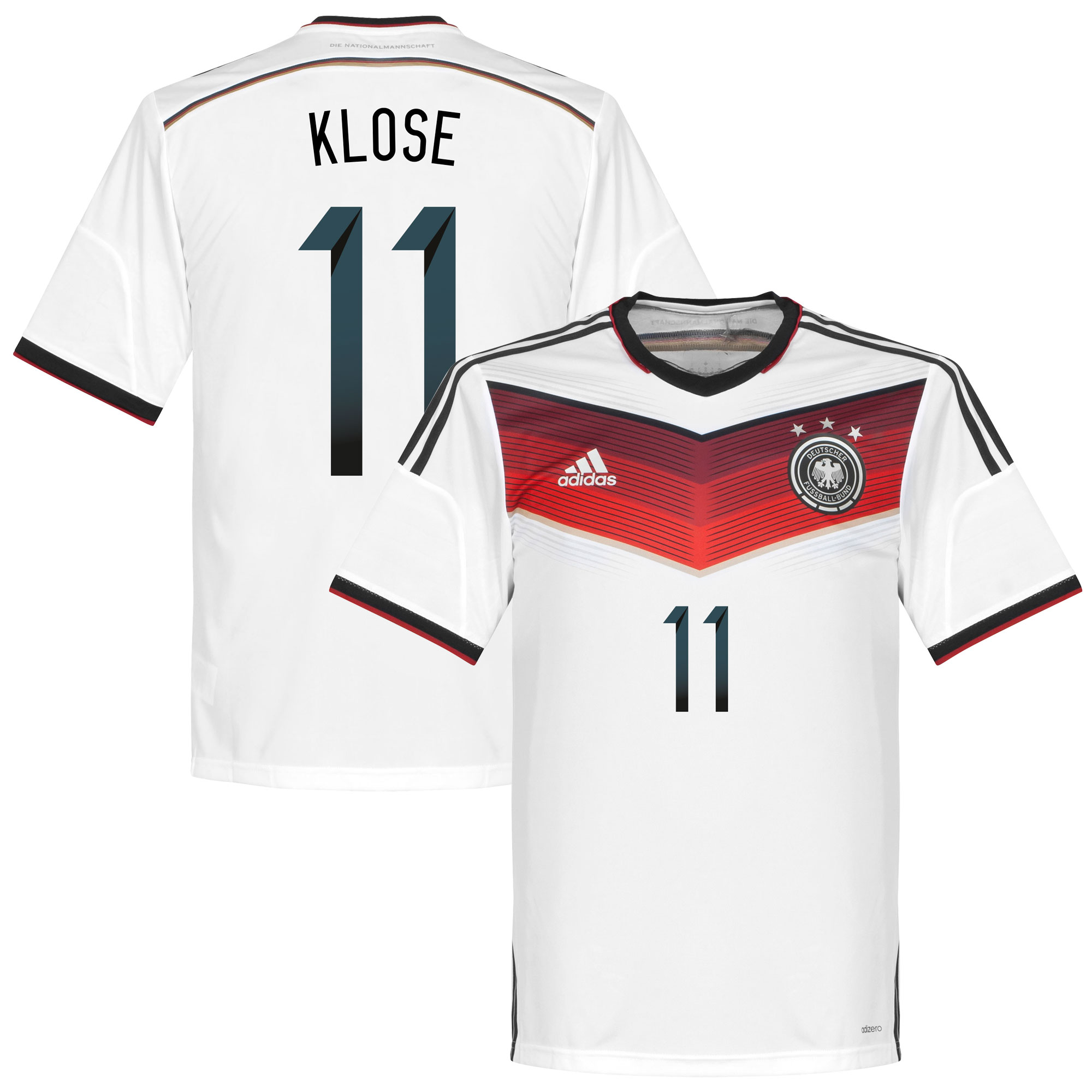 Germany Home Klose 11 Authentic Shirt 2014 2015 - 50