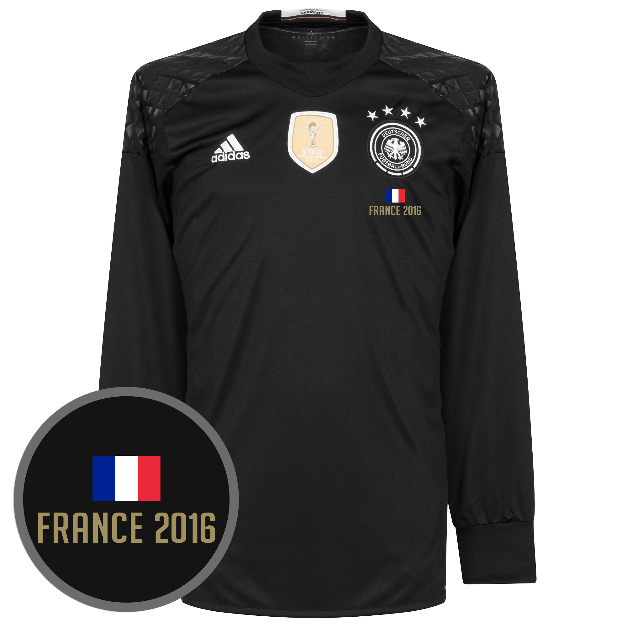 Germany Home Goalkeeper Jersey 2016 / 2017 + France 2016 Transfer - 50