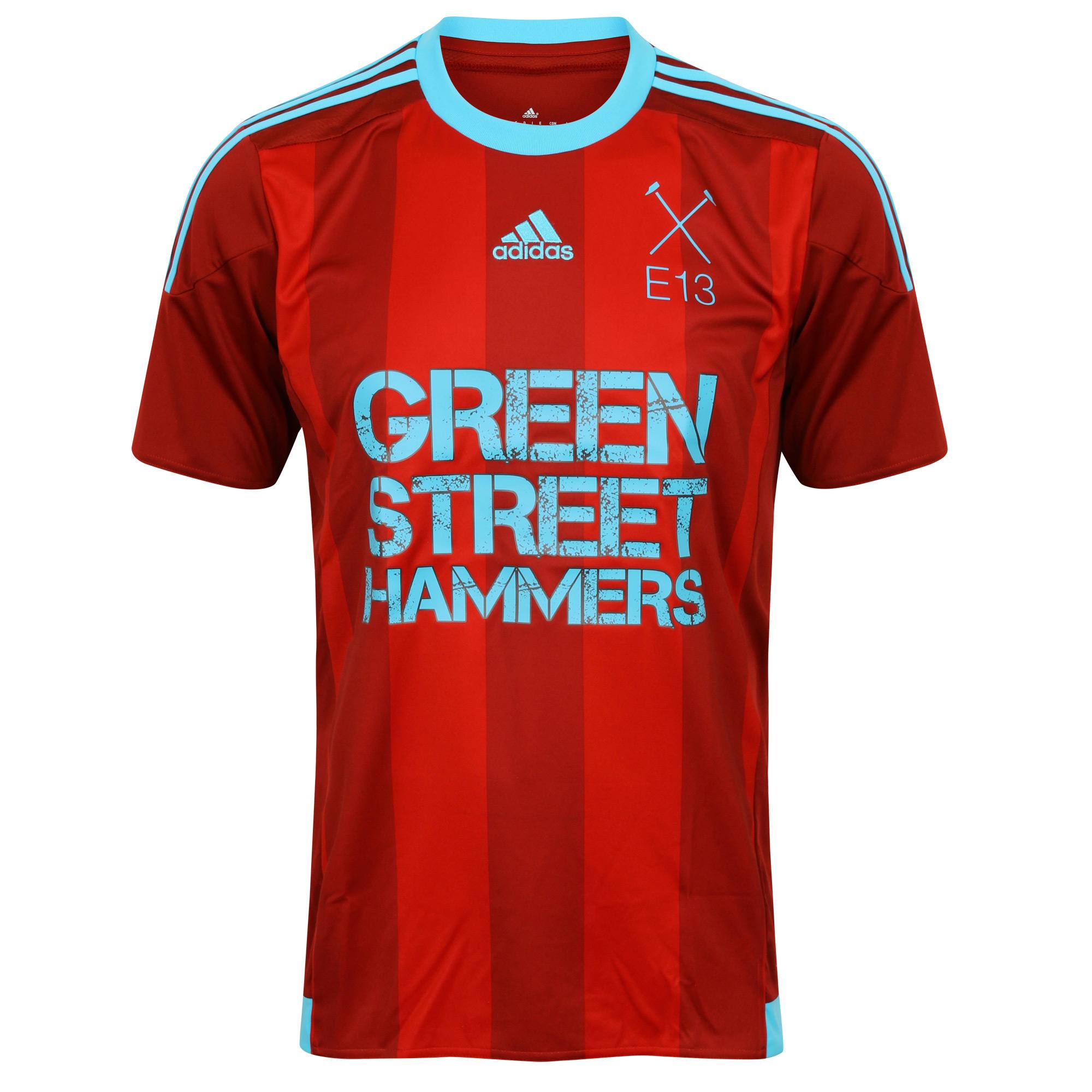 Green Street Hammers Thuisshirt
