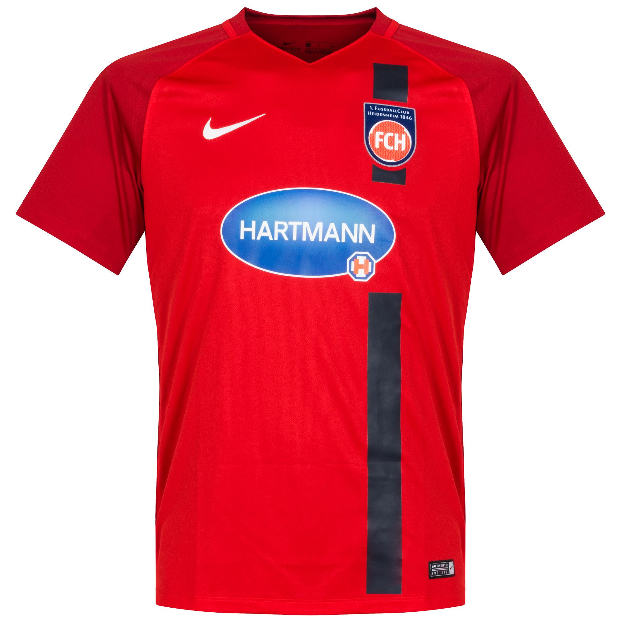 FC Heidenheim Home Shirt 2017 2018