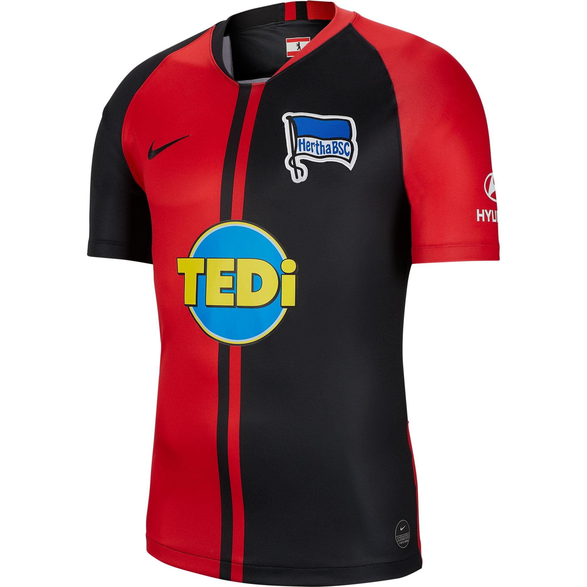Nike Hertha Berlin Away Shirt 2019-2020