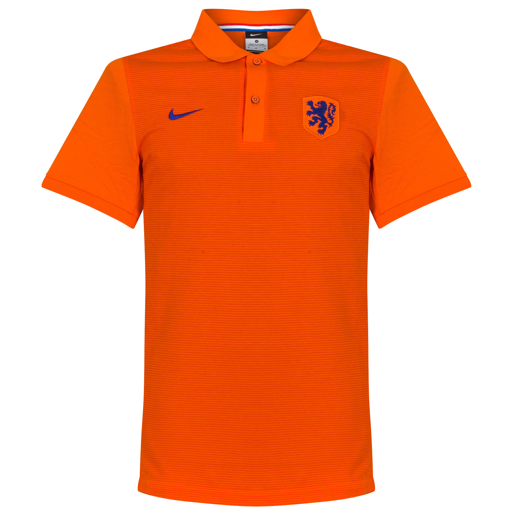 Holland Authentic Match Polo Shirt - Orange 2016 2017 - S