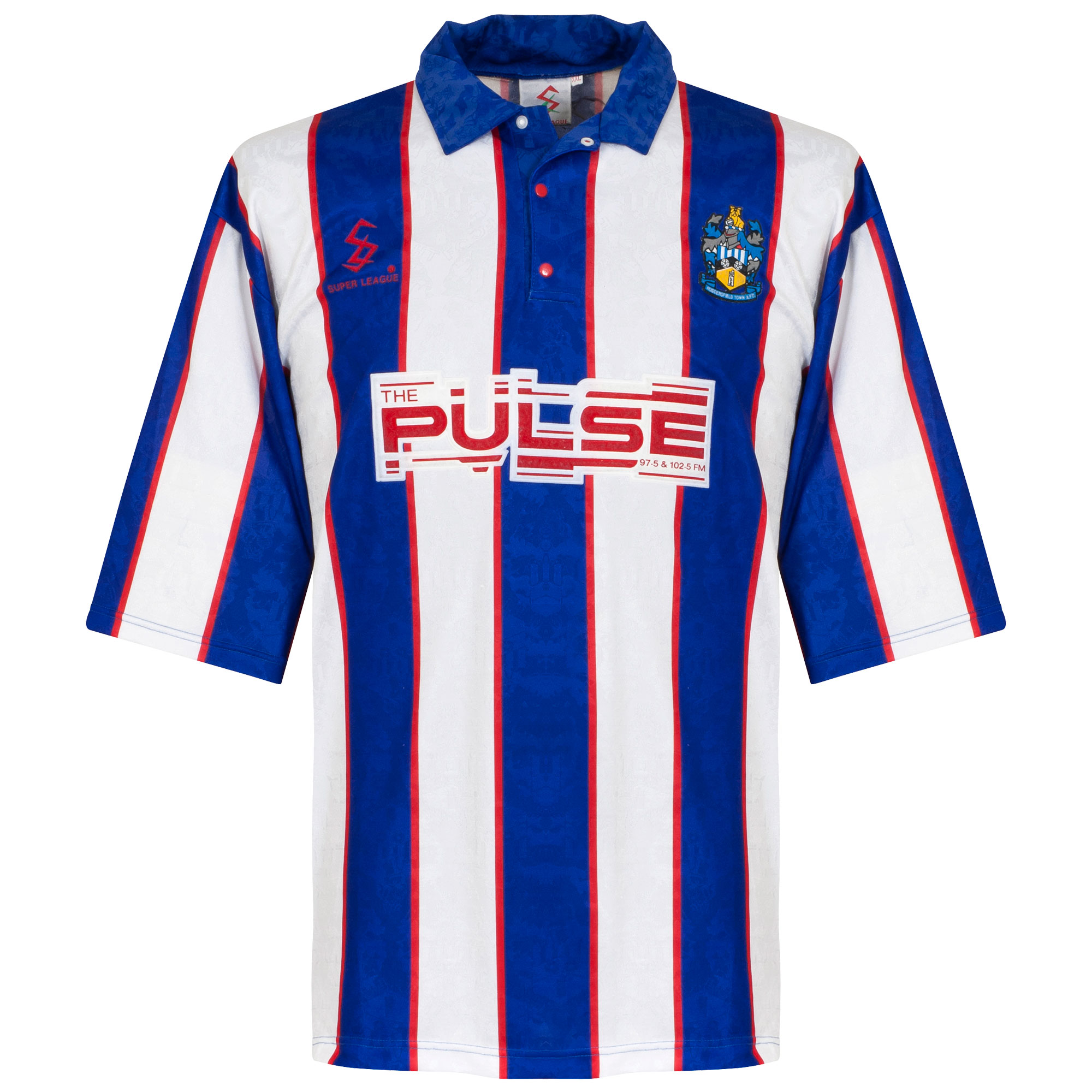 Super League Huddersfield Town 1992-1994 Home Shirt - USED Condition (Great) - Size X