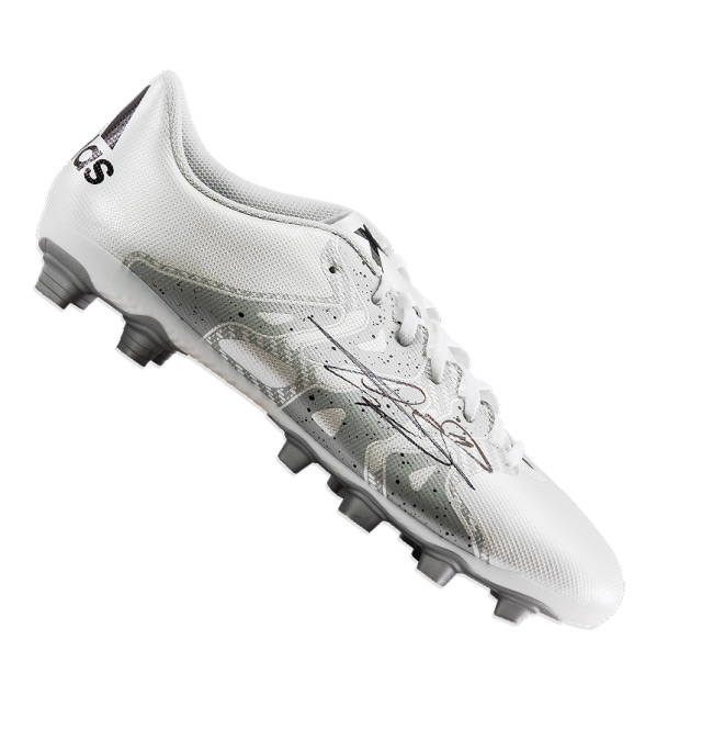 Gareth Bale Signed Adidas X 15.4 Cleat - White/Silver - OS